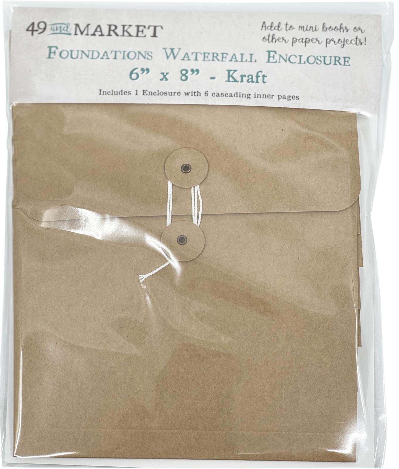 49 And Market Foundations Waterfall Enclosure 6X8-Kraft