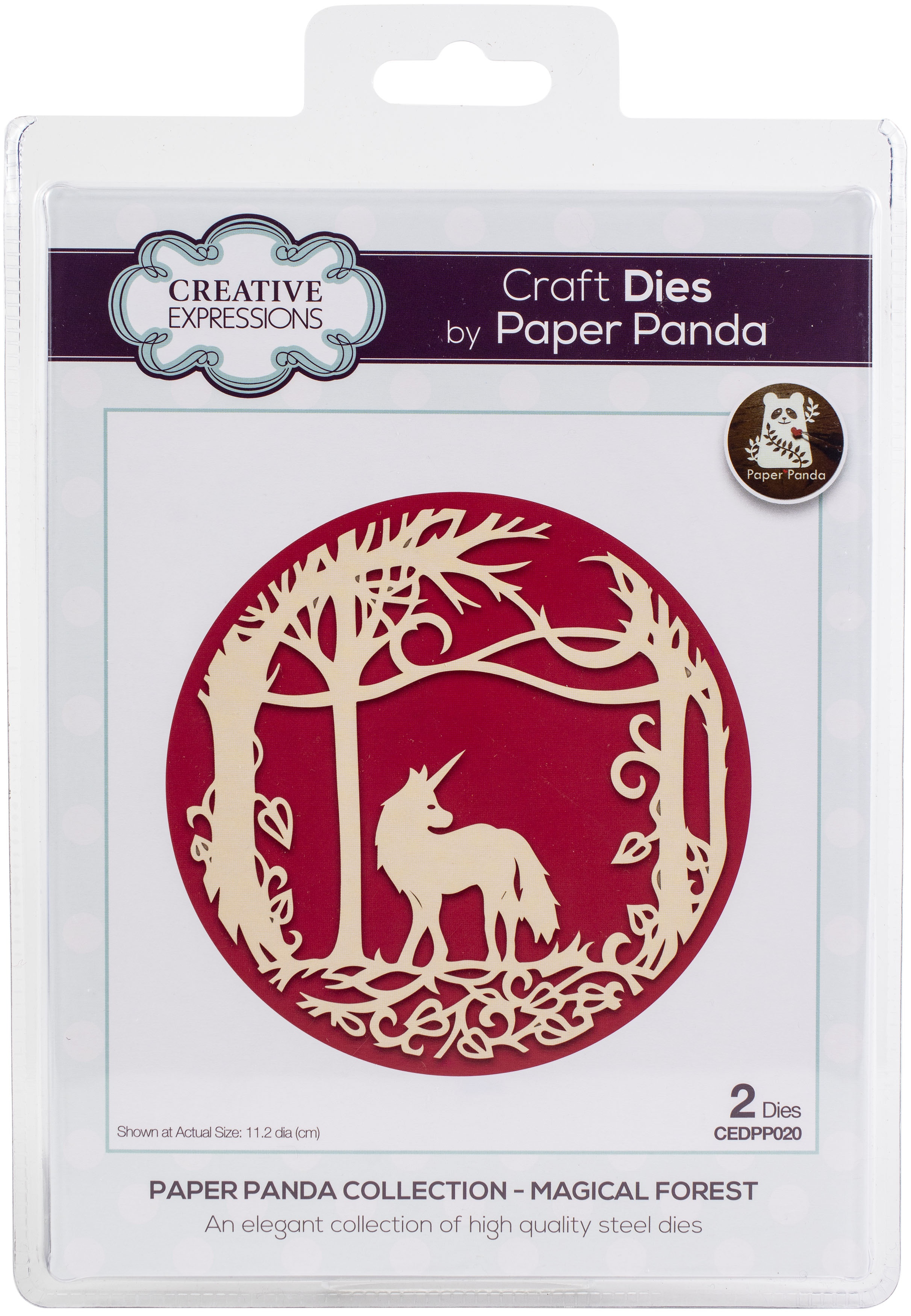 Creative Expressions Craft Dies By Paper Panda-Magical Forest