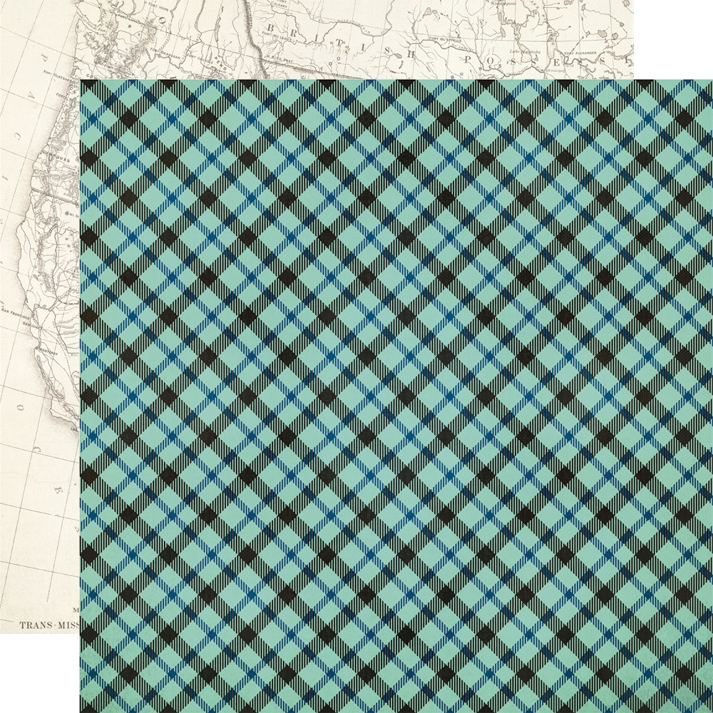 New! Howdy! Double-Sided Cardstock 12X12-Out Yonder