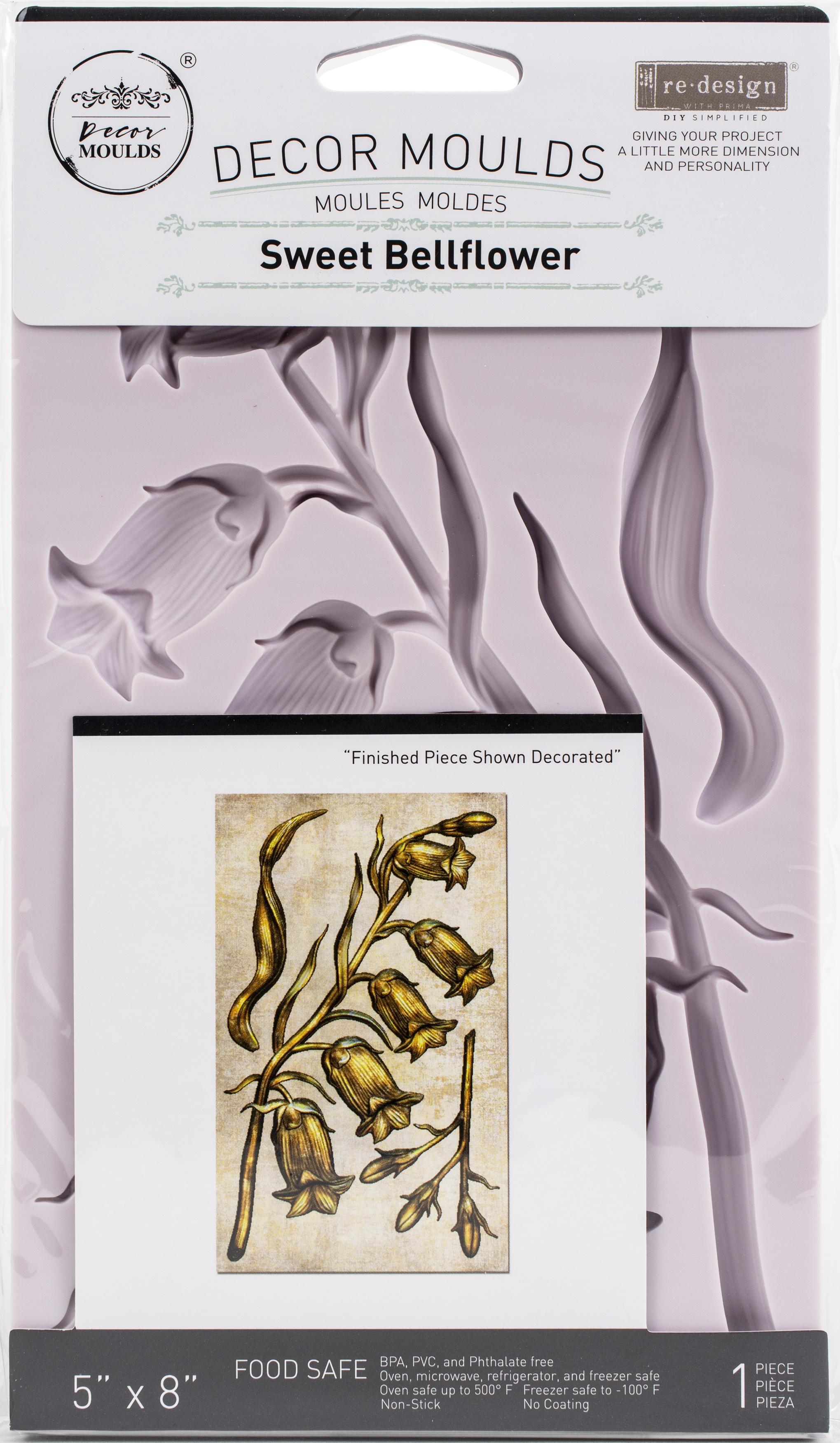Prima Decor Mould - Sweet Bellflower 5x8