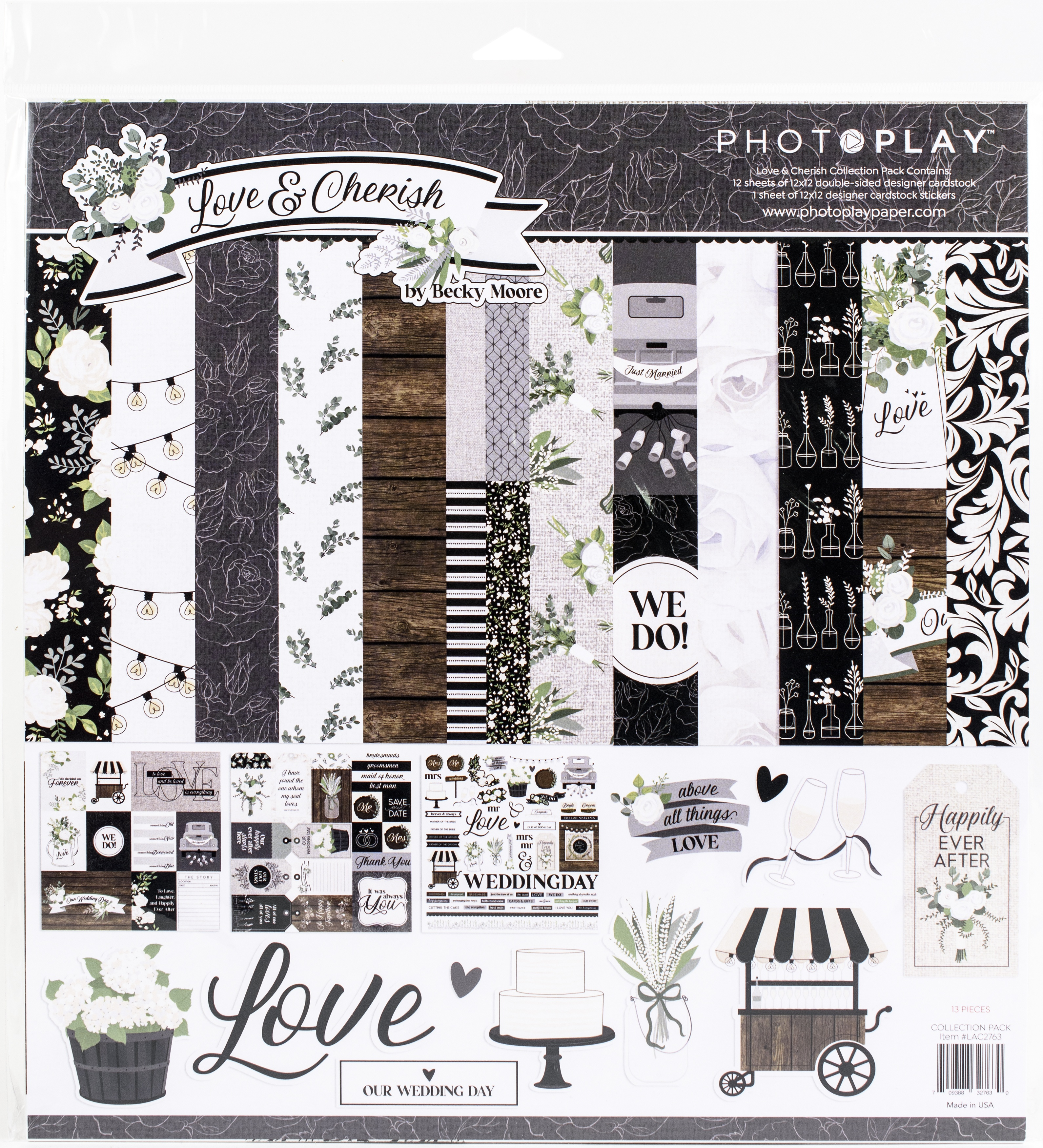 PhotoPlay Collection Pack 12X12-Love & Cherish