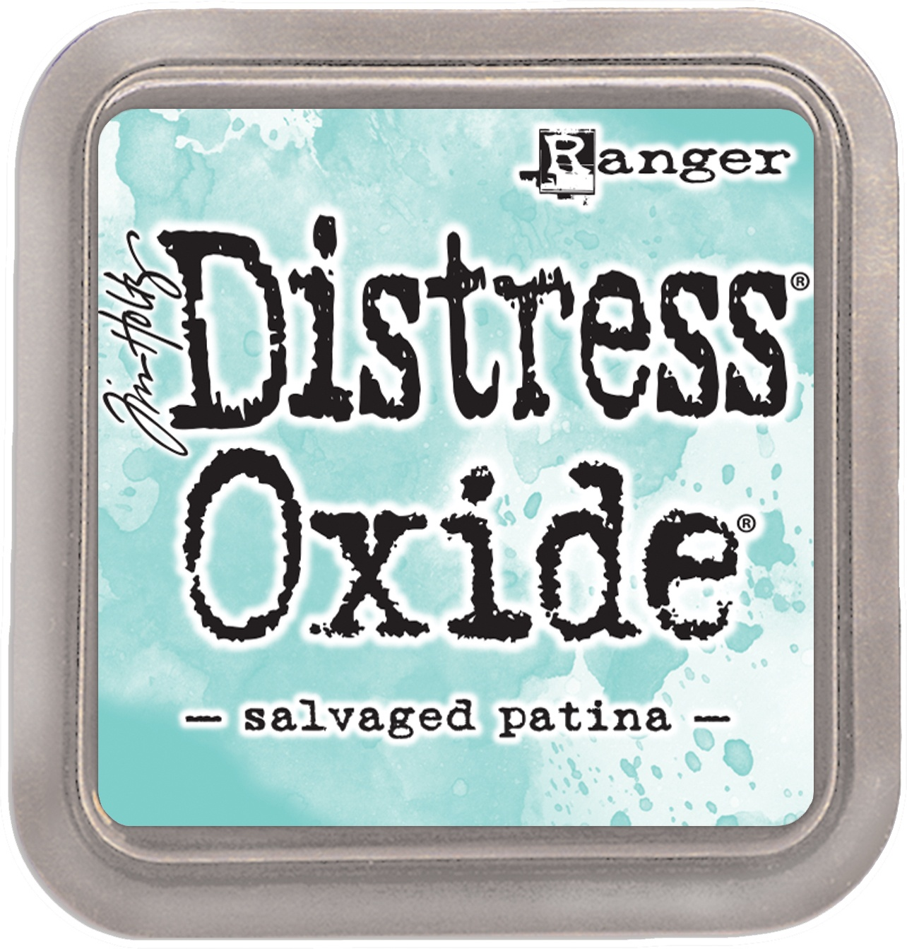 Tim Holtz Distress Oxides Ink Pad-Salvaged Patina