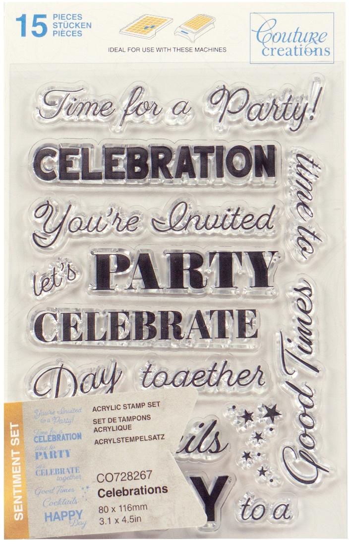 Celebrations Sentiment Stamp Set