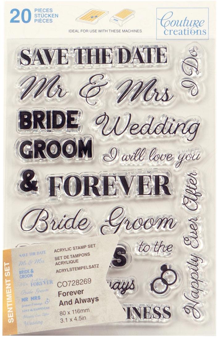 Forever & Always Sentiment Stamp Set