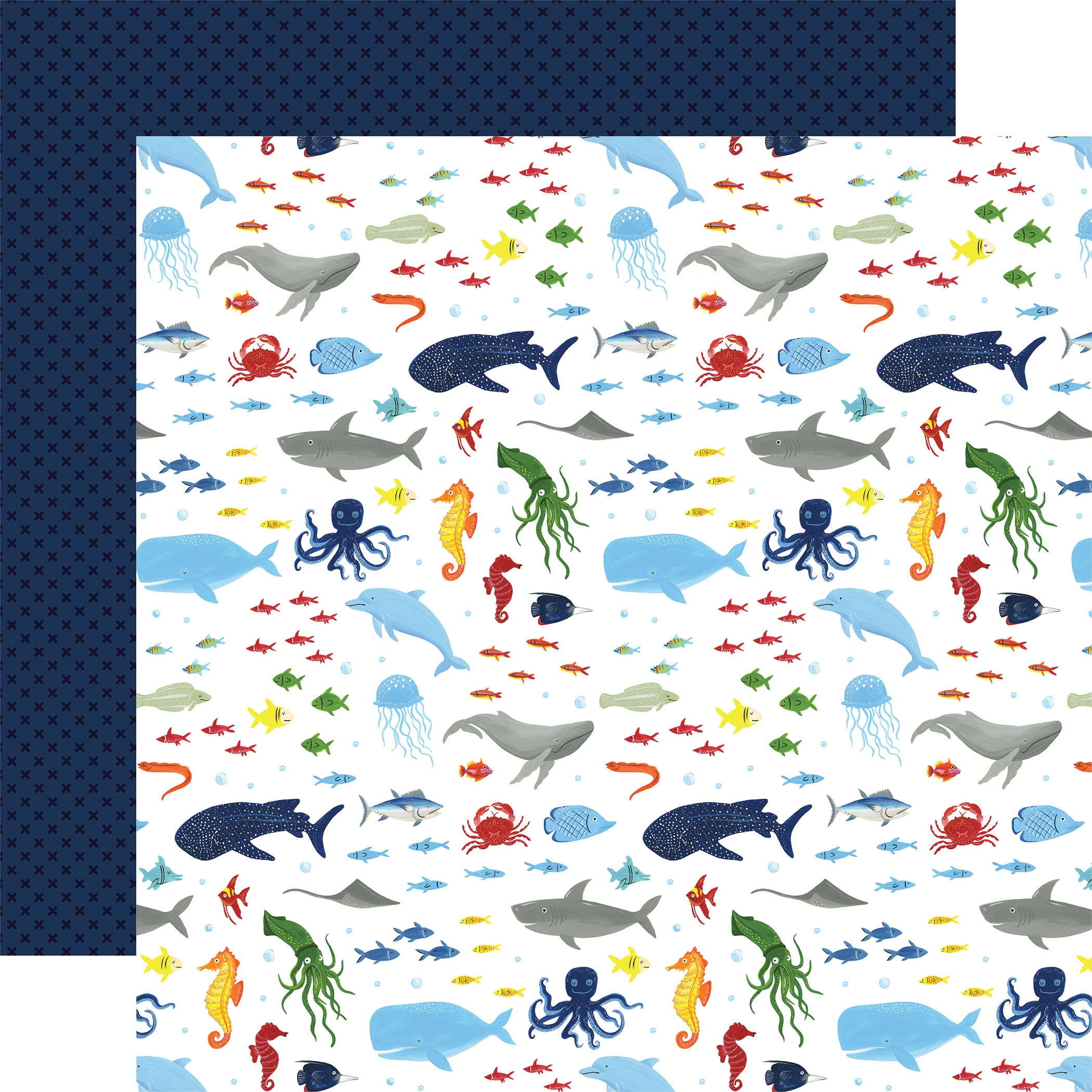 Under Sea Adventures Double-Sided Cardstock 12X12