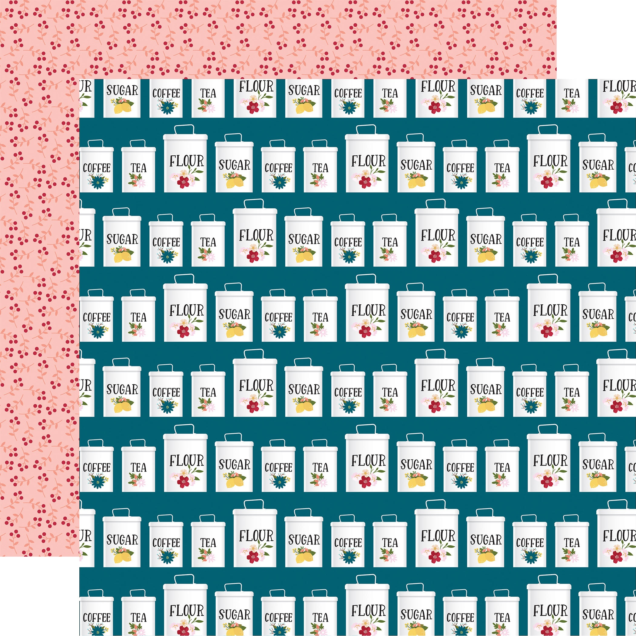 Farmer's Market Double-Sided Cardstock 12X12-A Happy Life