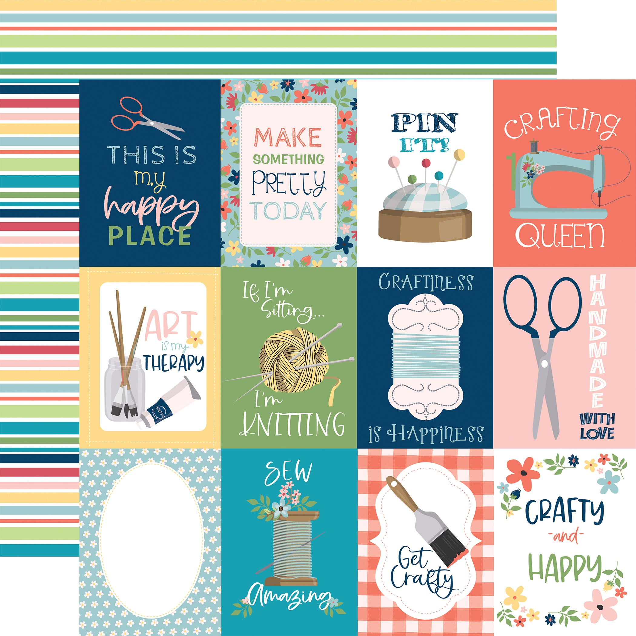 Craft & Create- 12x12 Cardstock