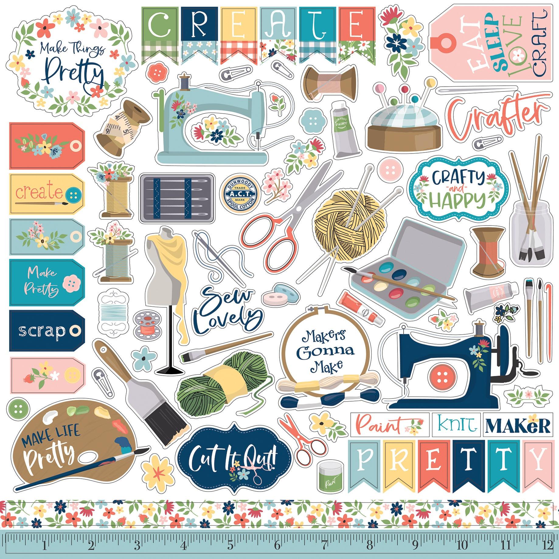 Craft & Create- Element Stickers