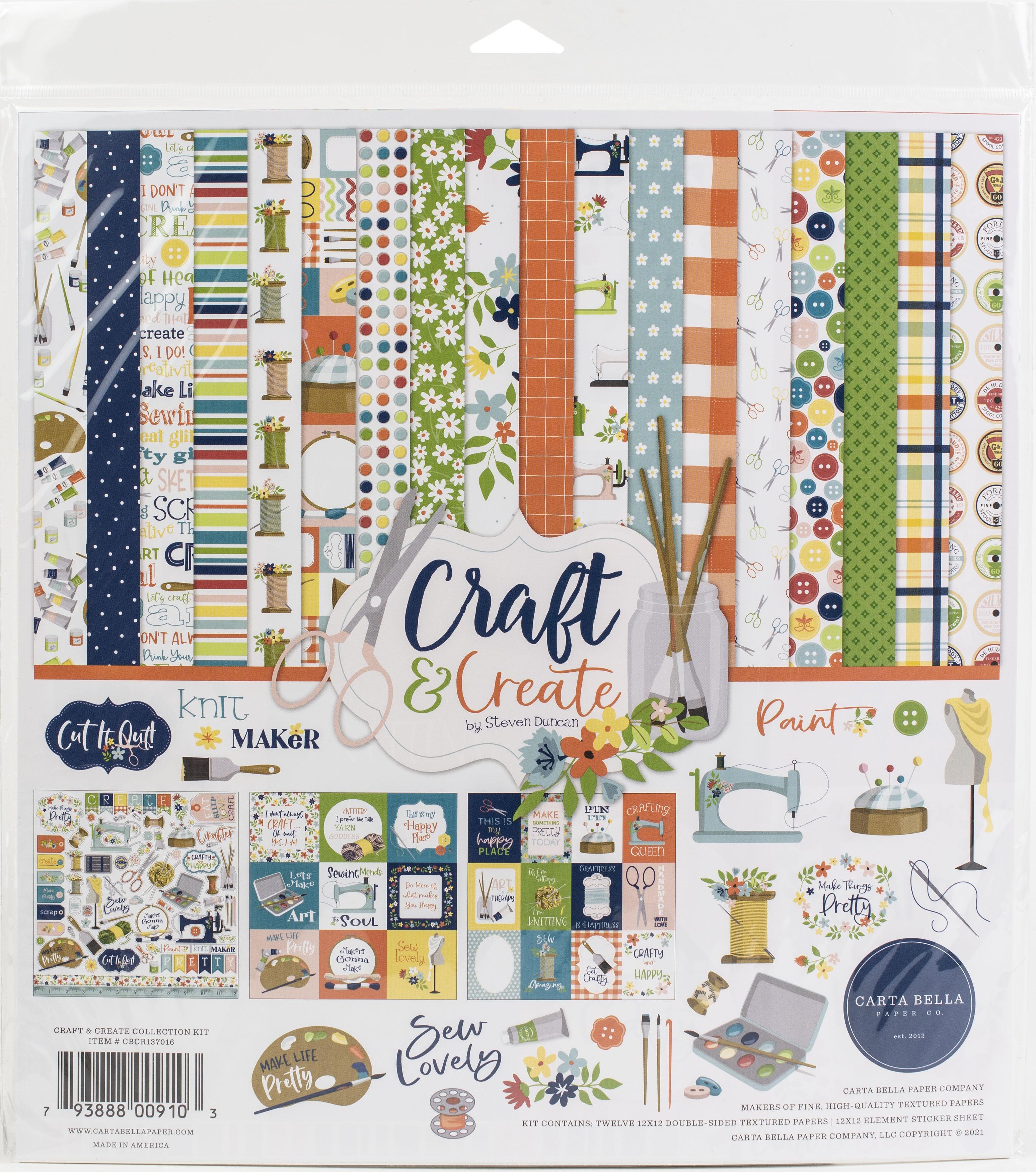 Carta Bella Collection Kit 12X12-Craft & Create