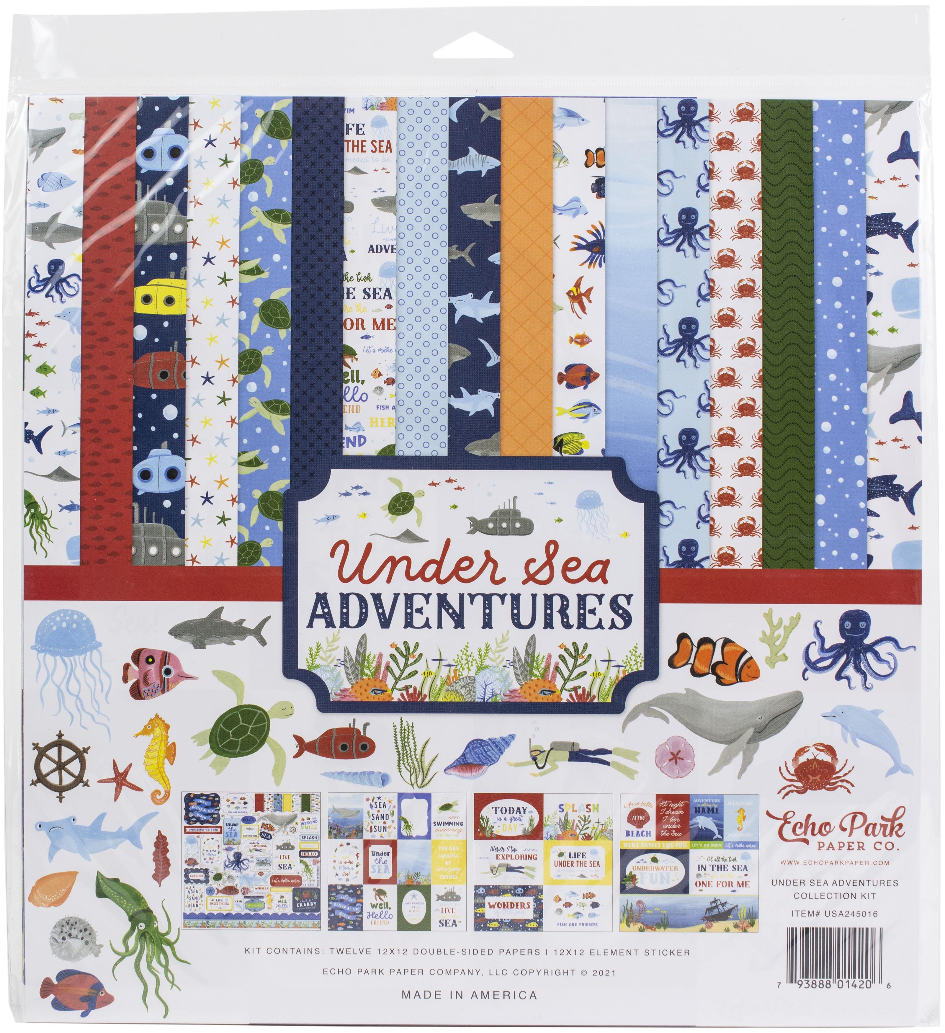 Echo Park - Under Sea Adventures - 12x12 Collection Pack