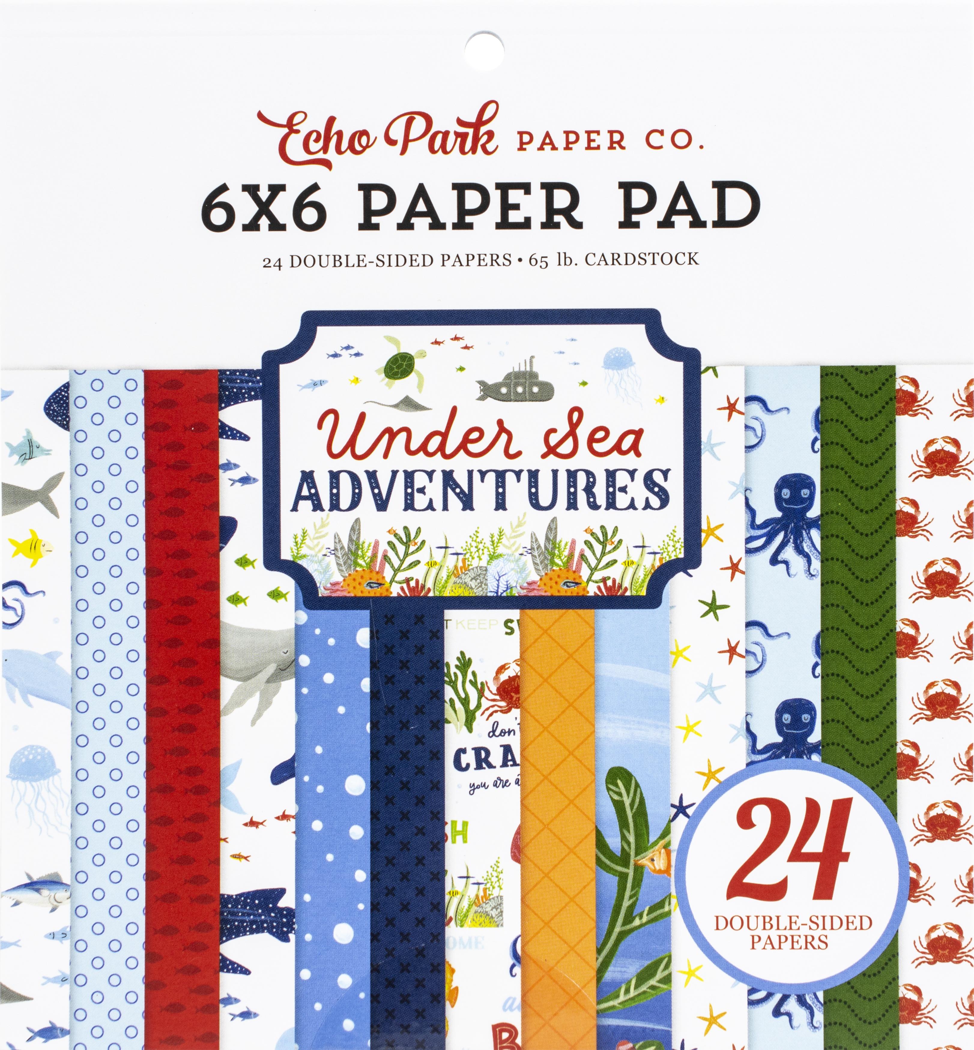 Echo Park - Under Sea Adventures - 6x6 Paper Pad