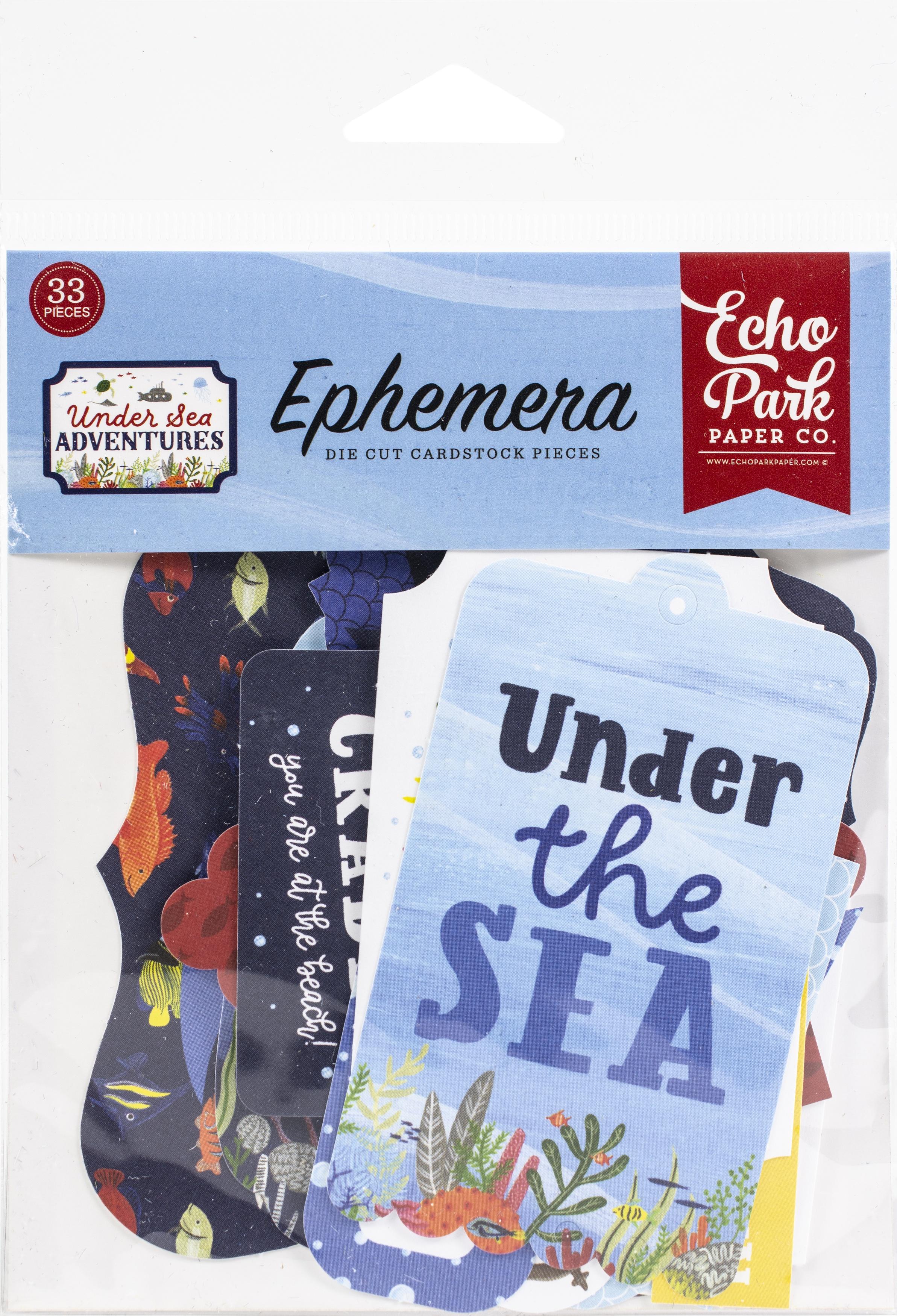 Echo Park - Under Sea Adventures - Ephemera