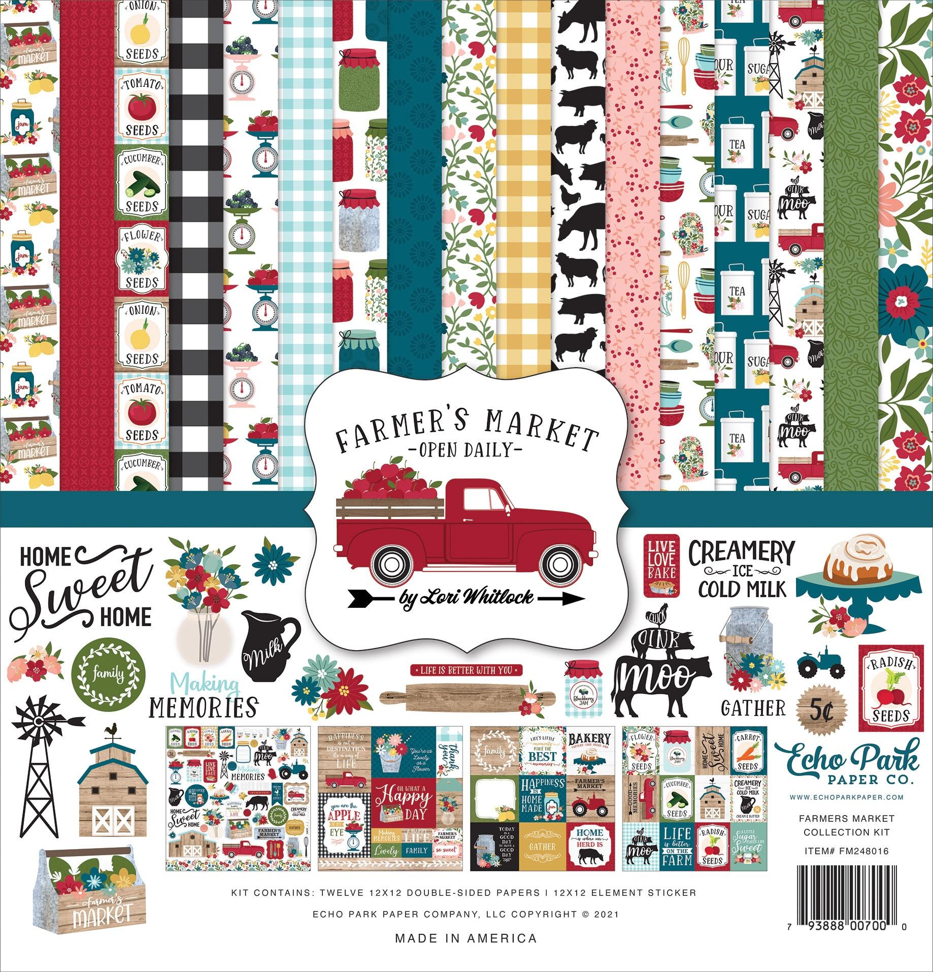 Echo Park Collection Kit 12X12-Farmer's Market