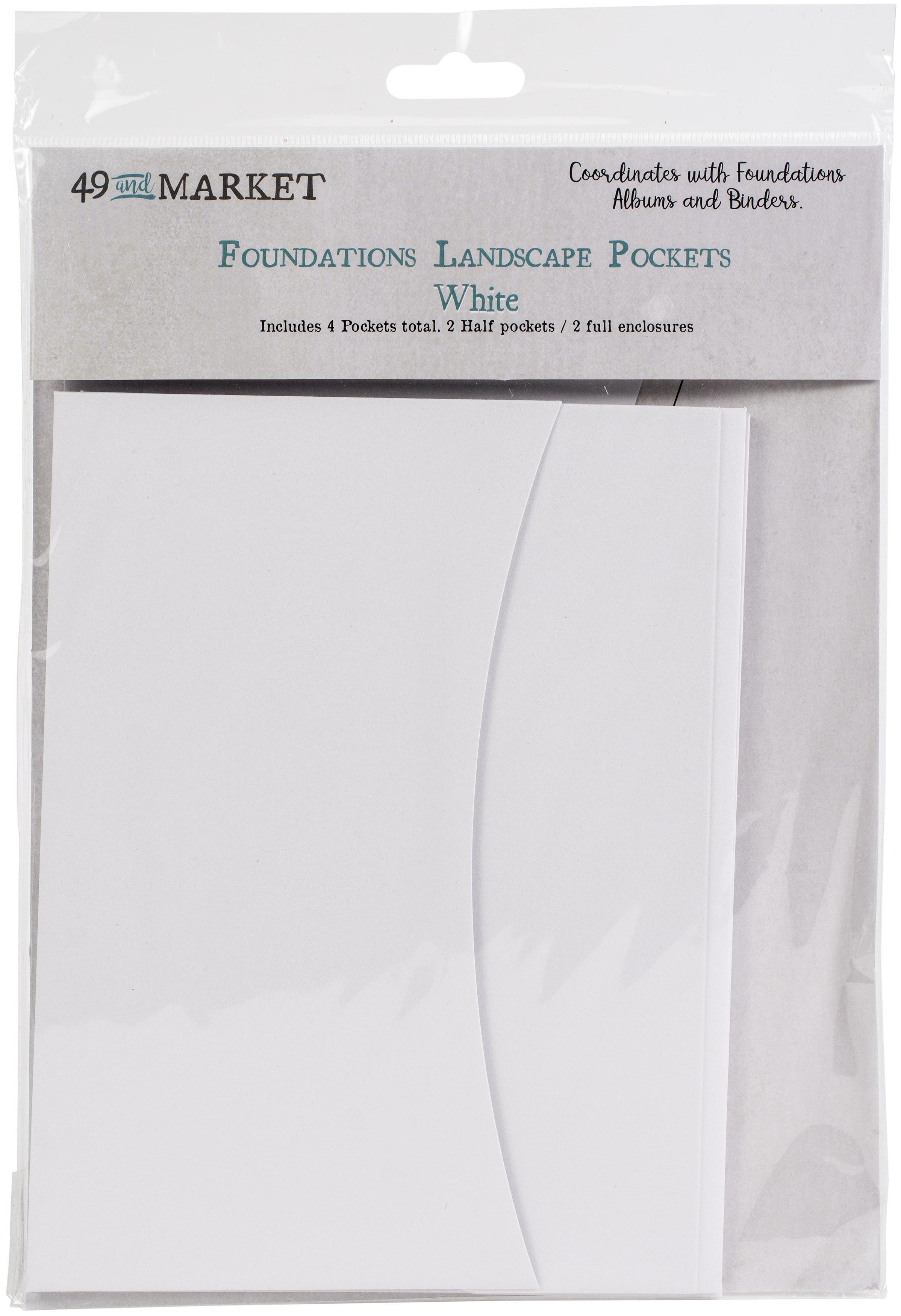 49 And Market Foundations Landscape Pockets-White