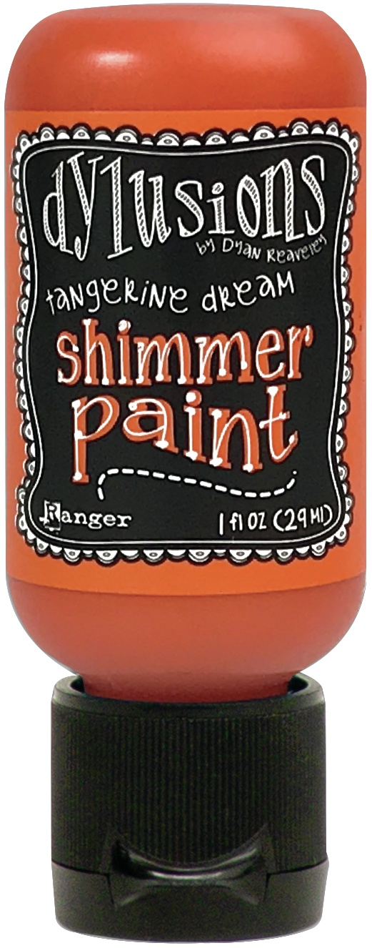 Dylusions Shimmer Paint 1oz-Tangerine Dream