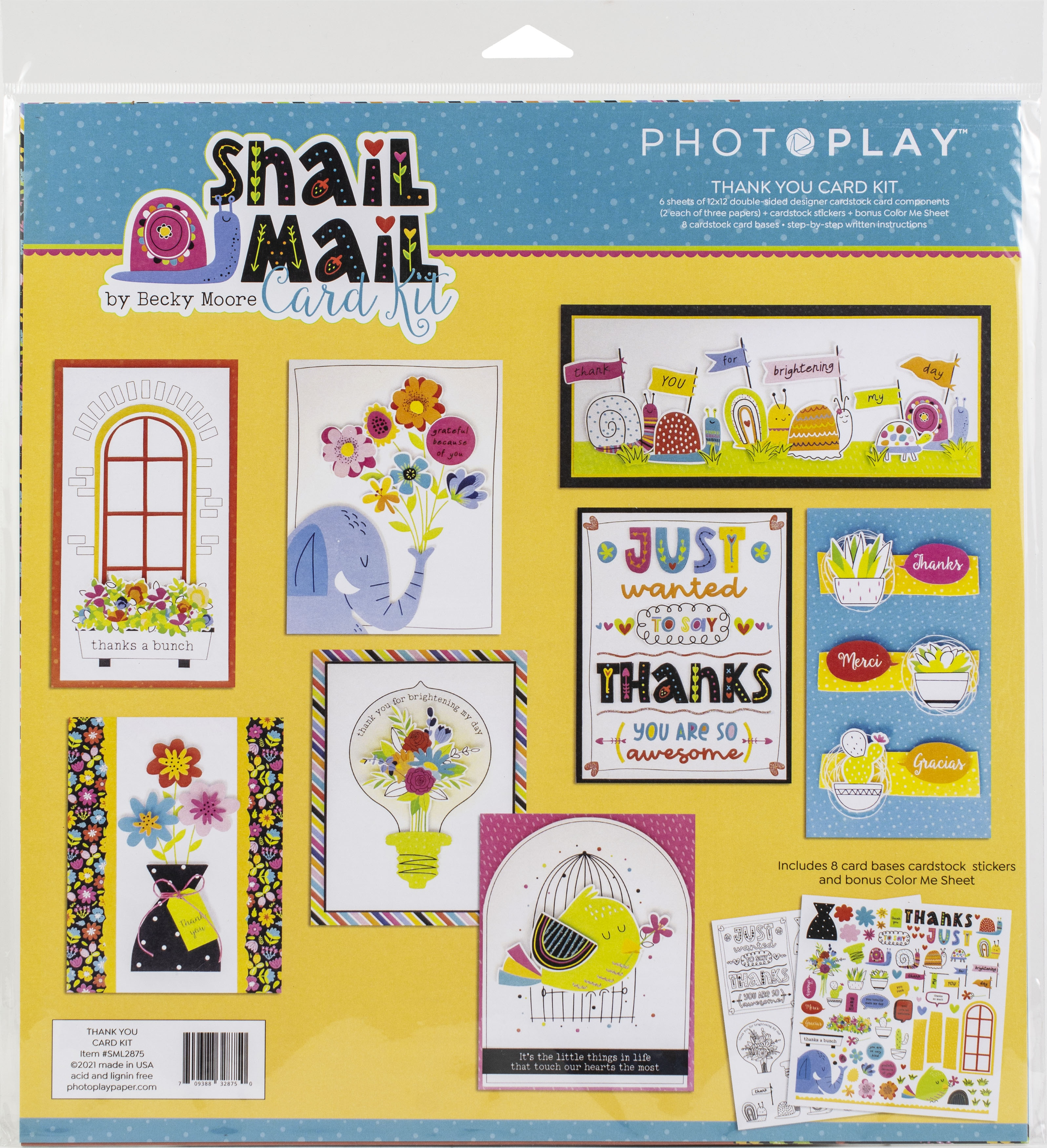 PhotoPlay Collection Card Kit-Snail Mail