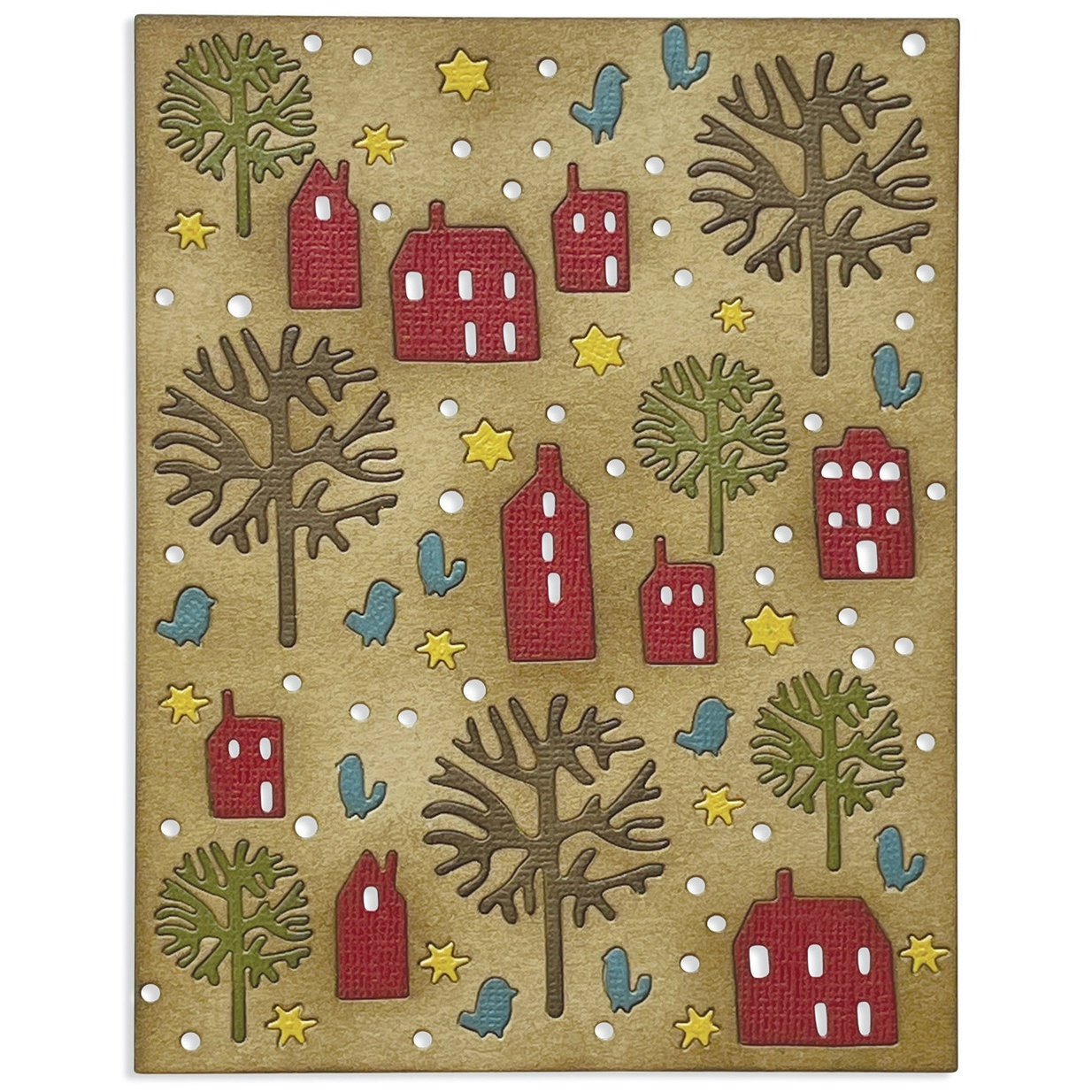 Sizzix - Thinlits Die - Countryside by Tim Holtz