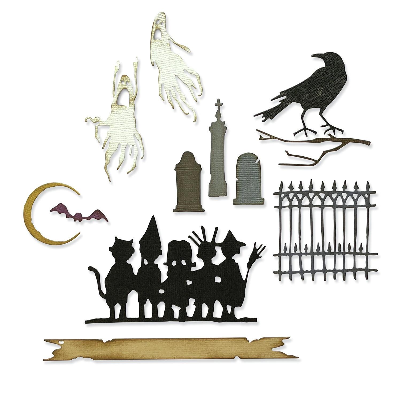 Sizzix - Thinlits Dies - Vault Series: Halloween 2021 by Tim Holtz