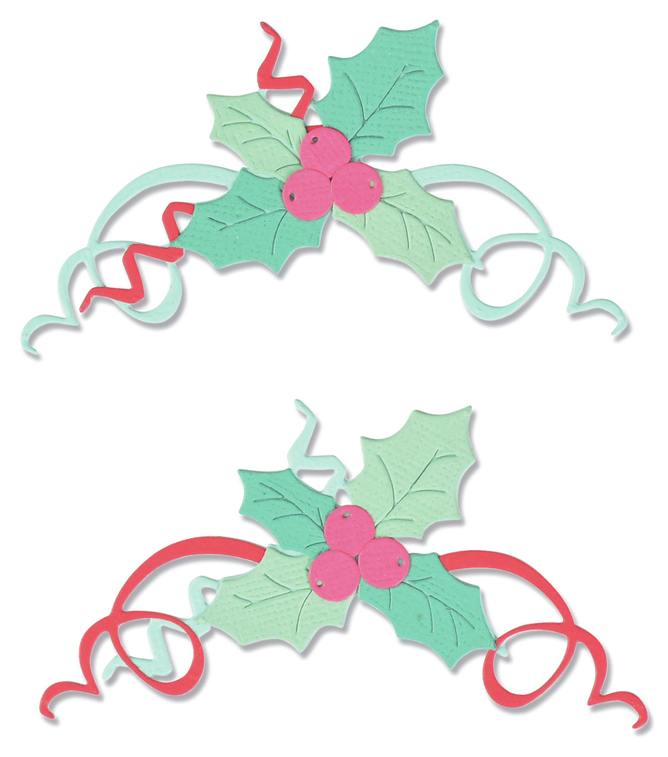 Sizzix Thinlits Dies 11/Pkg-Boughs of Holly