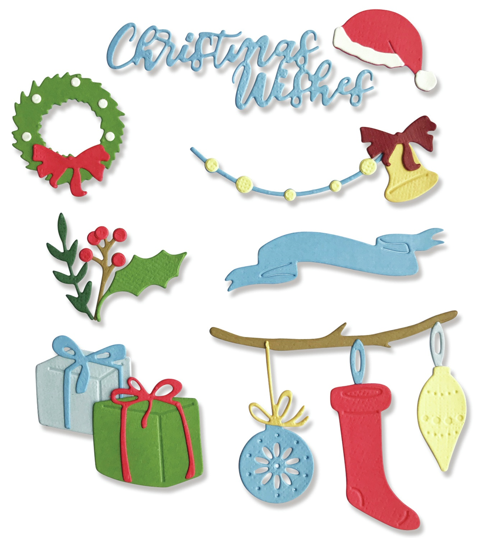 Sizzix Thinlits Dies 20/Pkg-Christmas Decorations