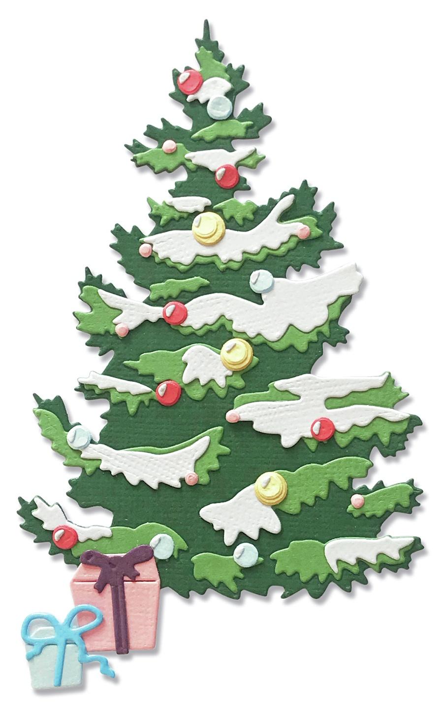 Sizzix - Thinlits Dies - Layered Christmas Tree
