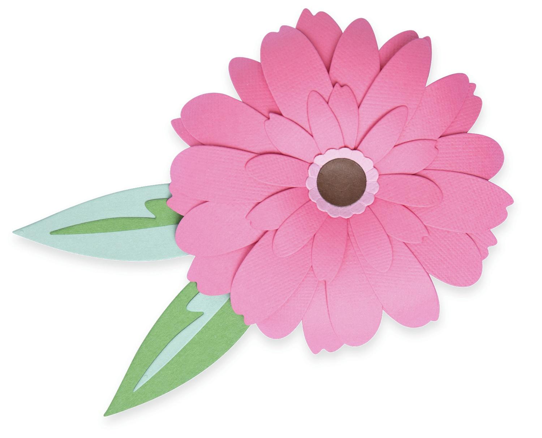 Sizzix Thinlits Dies By Olivia Rose 8/Pkg-Gerbera Flower