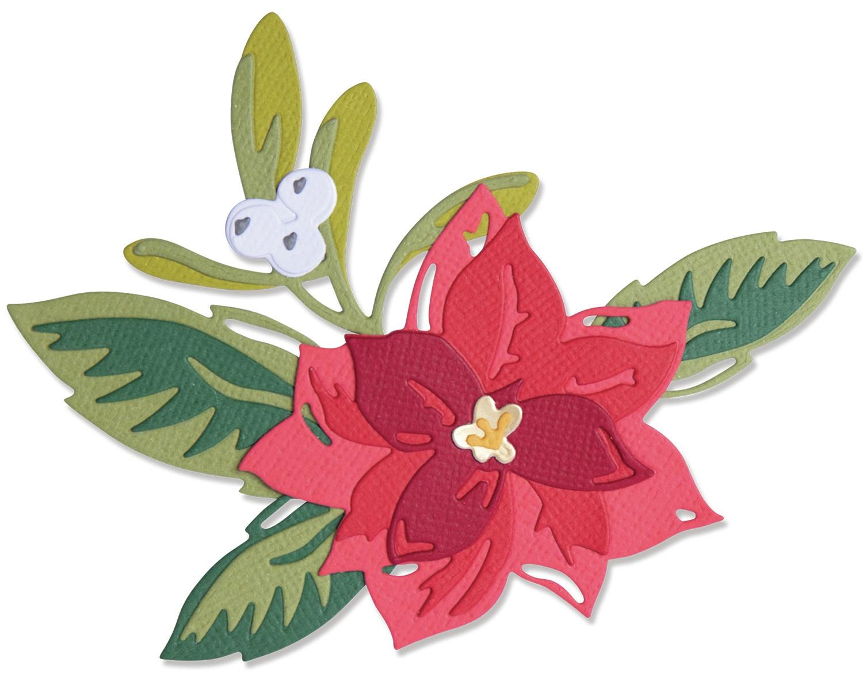 Sizzix Thinlits Dies By Lisa Jones 13/Pkg-Layered Christmas Flower