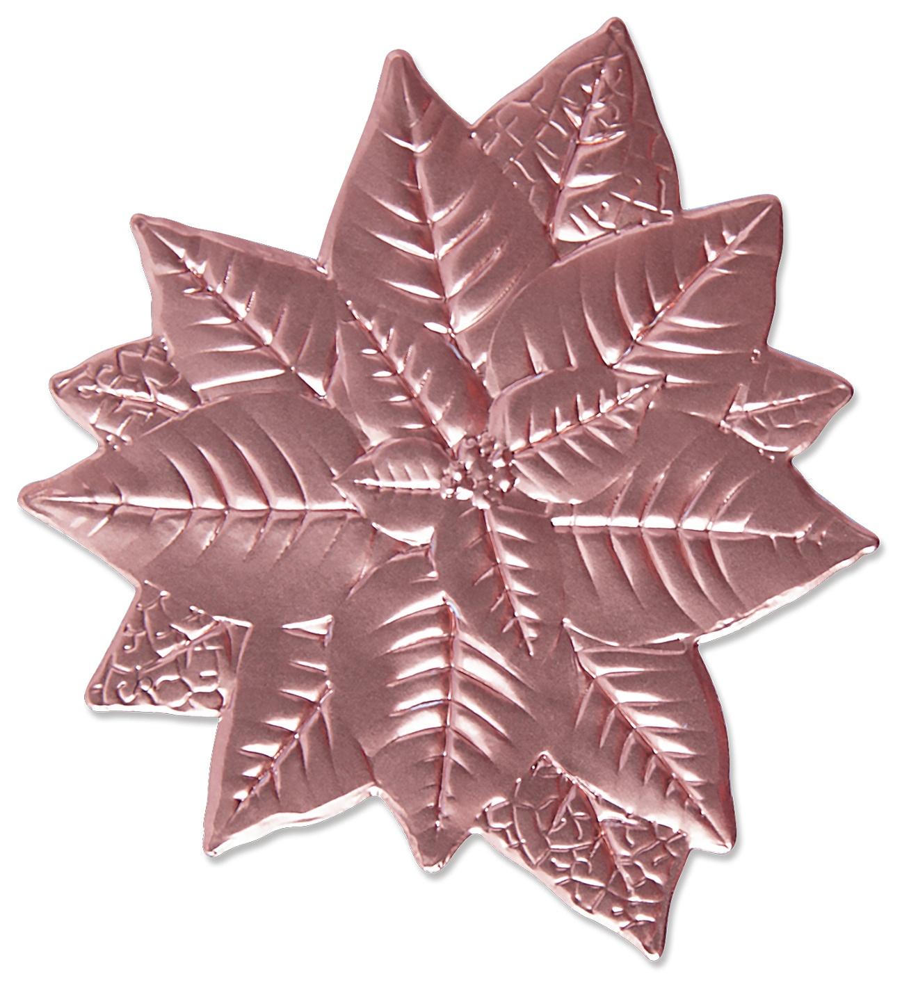 Sizzix - 3D Impresslits Embossing Folder - Poinsettia
