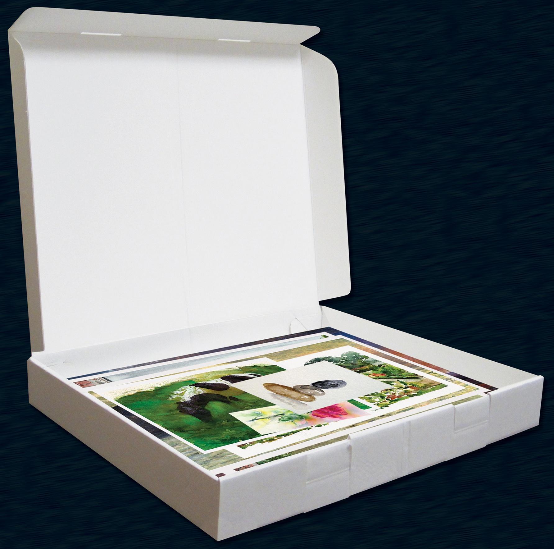 PROP-IT Storage Box 11x14x1.5-Medium