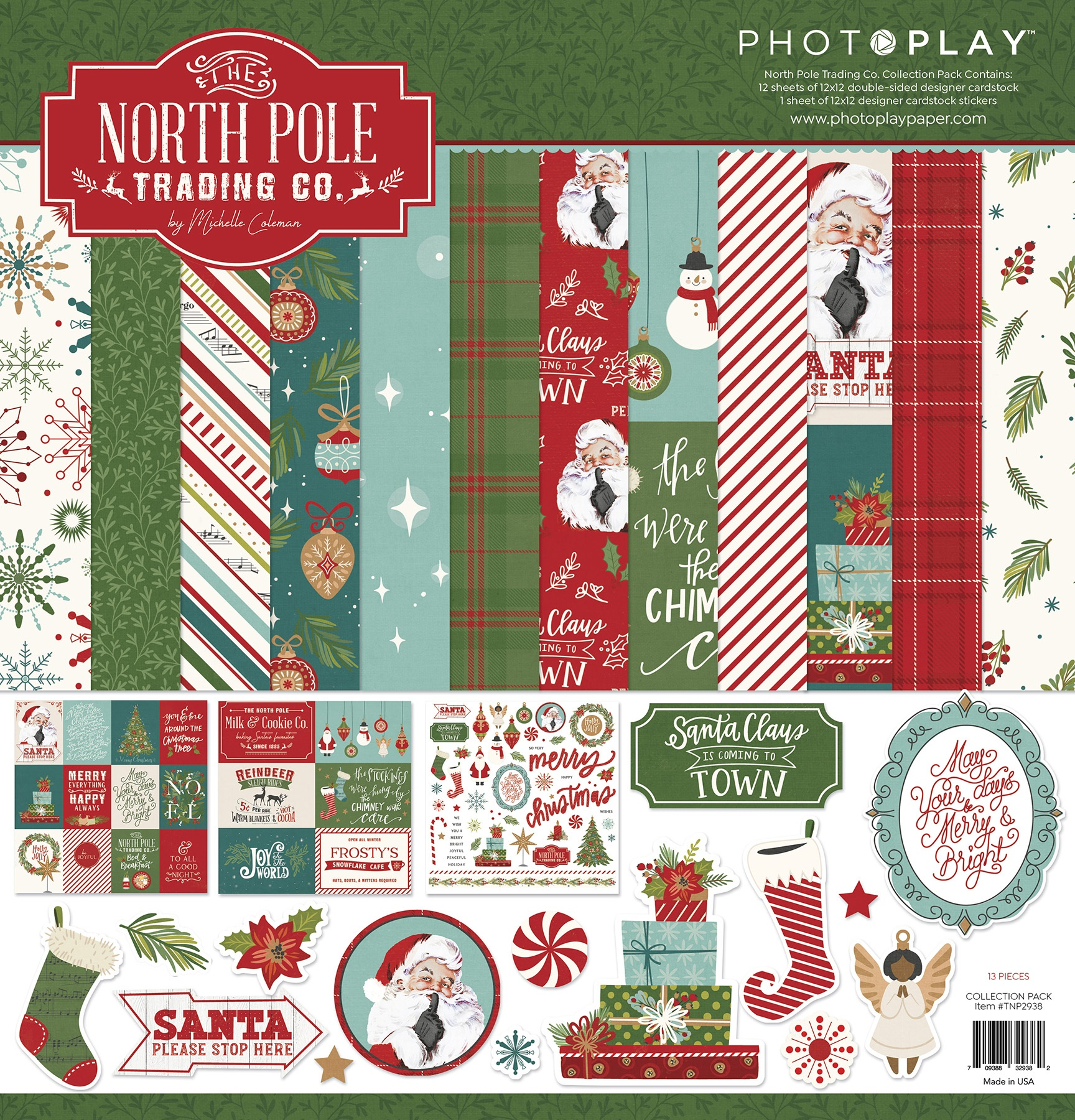 PhotoPlay Collection Pack 12X12-The North Pole Trading Co.