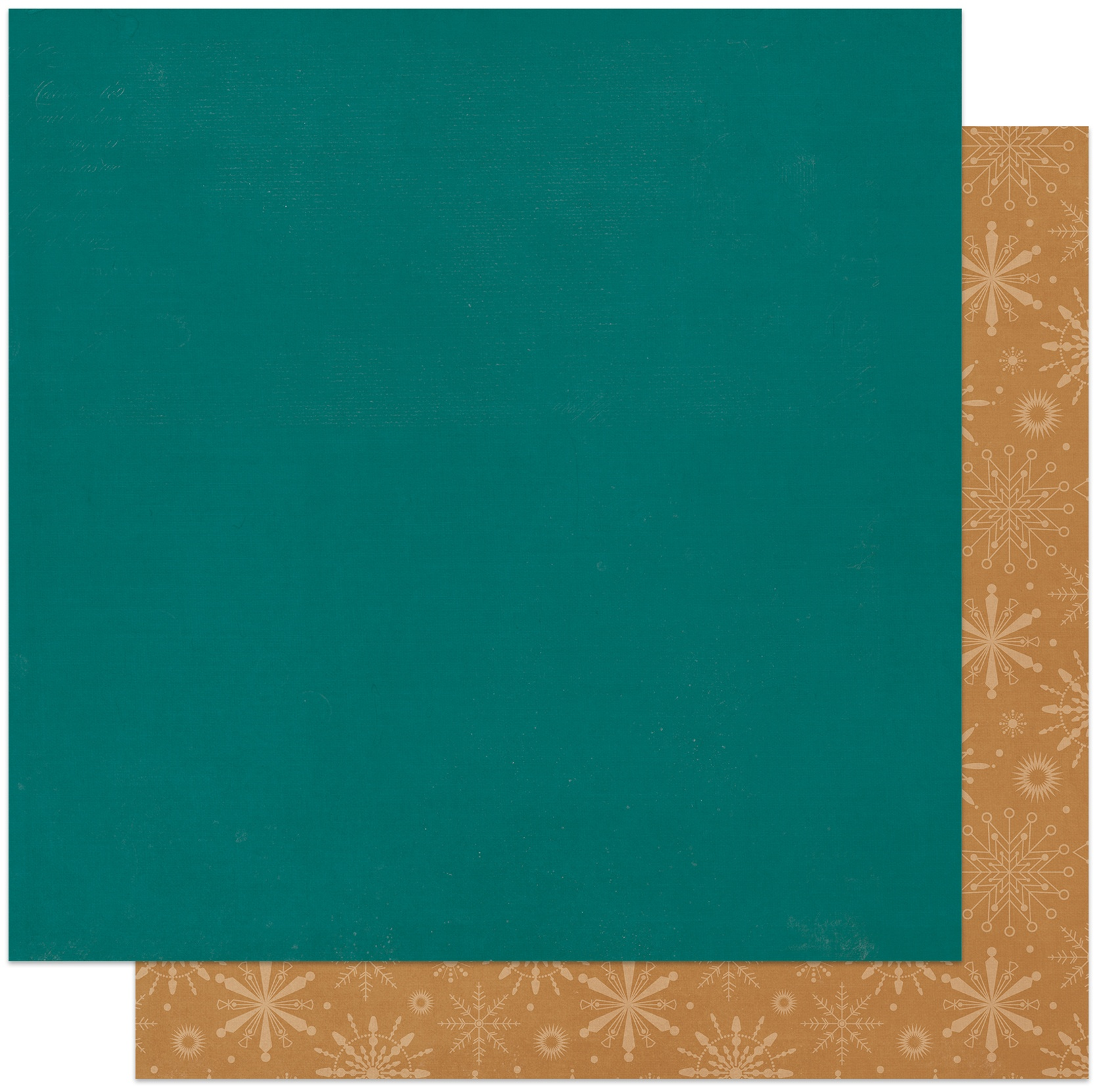 PhotoPlay - Solids Plus - BLUE   GOLD - 12x12 Double-Sided Paper
