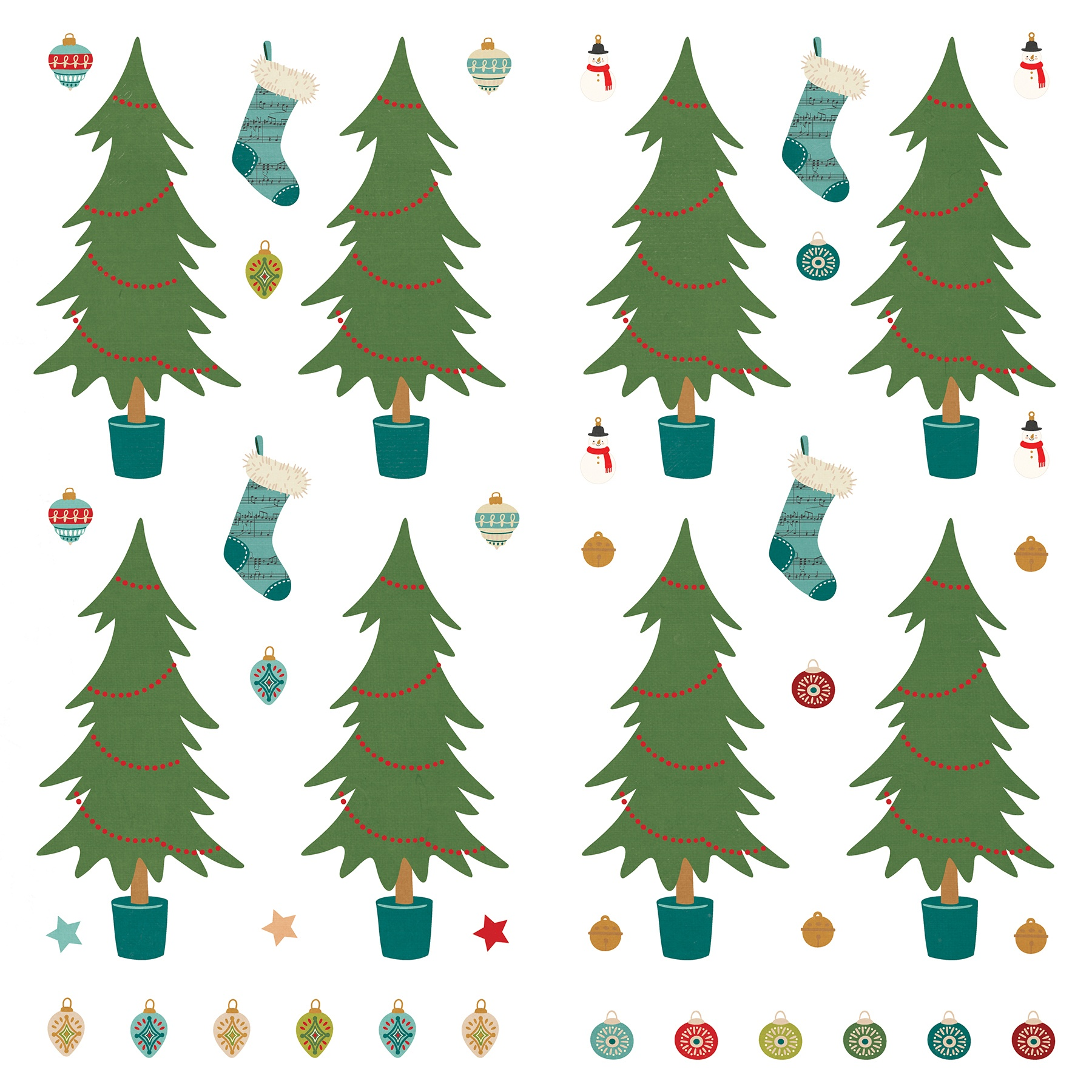 PP The North Pole Trading Co Trim Tree Die Paper