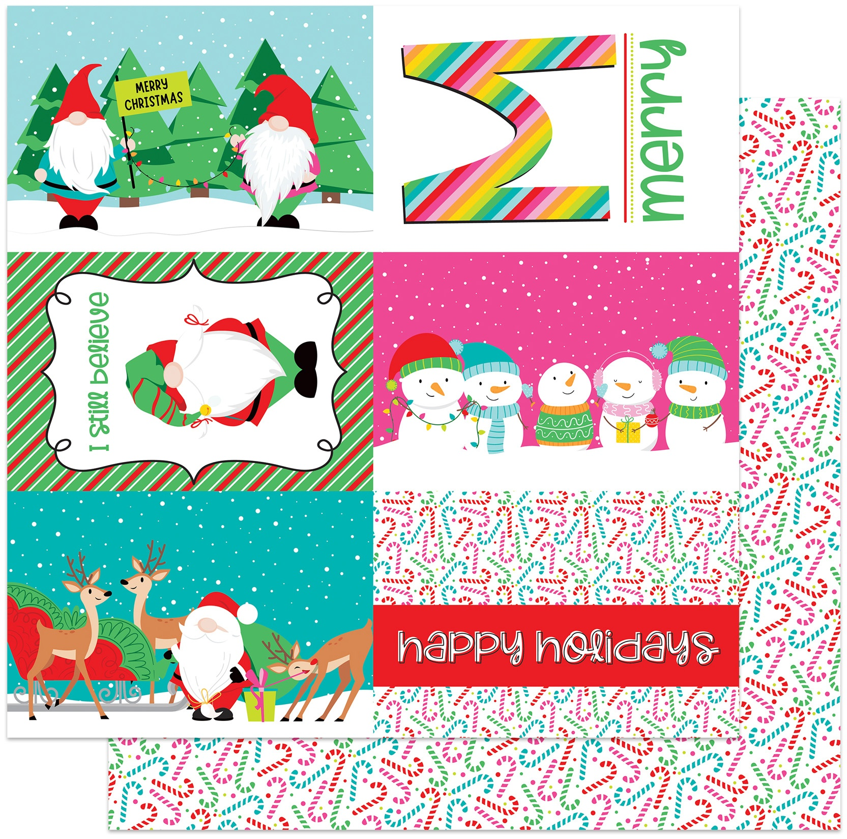 PhotoPlay - Tulla & Norbert's Christmas Party - I STILL BELIEVE - 12x12 Double-Sided Paper