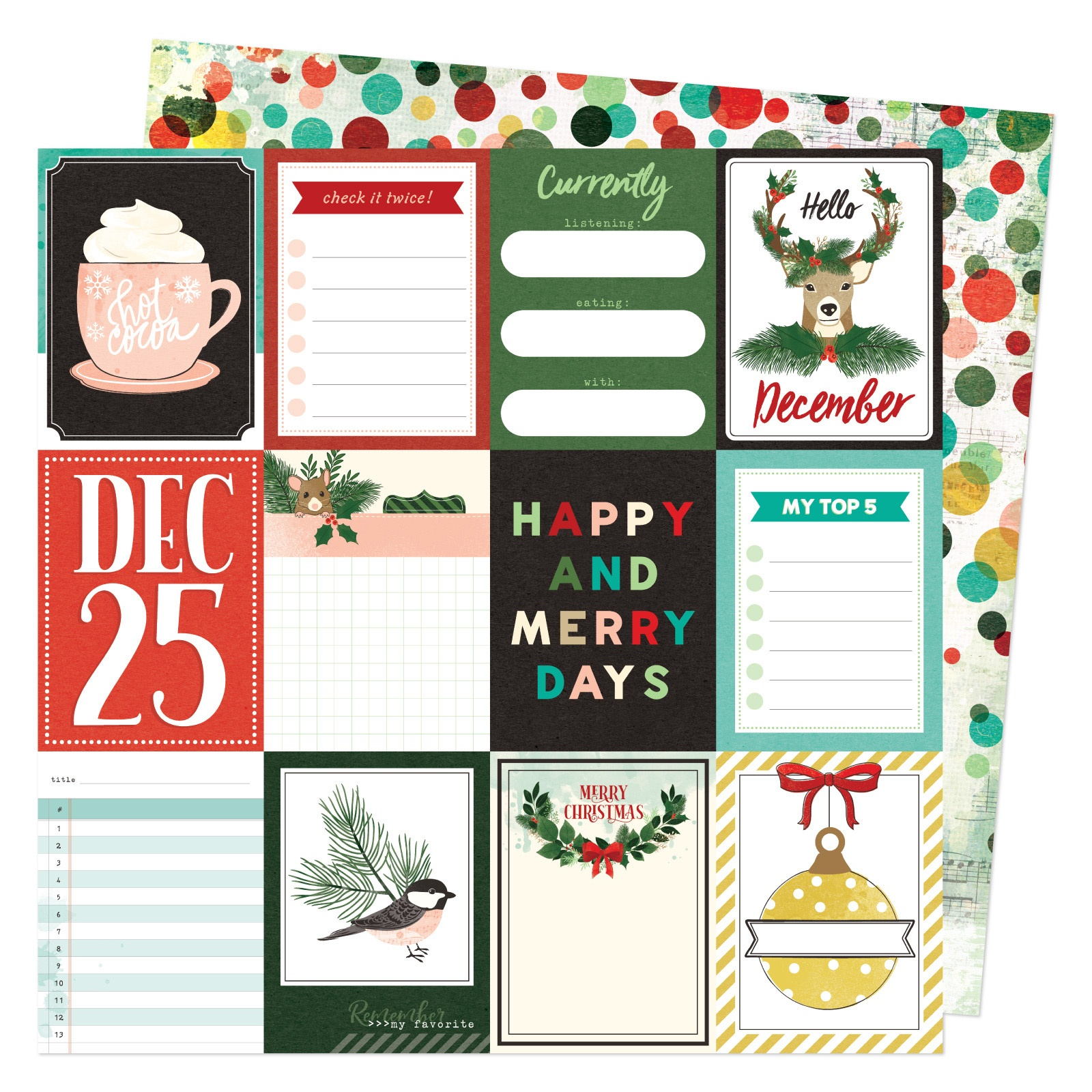 PRESALE - Vicki Boutin - WARM WISHES COLLECTION - 12x12 Double-Sided Paper