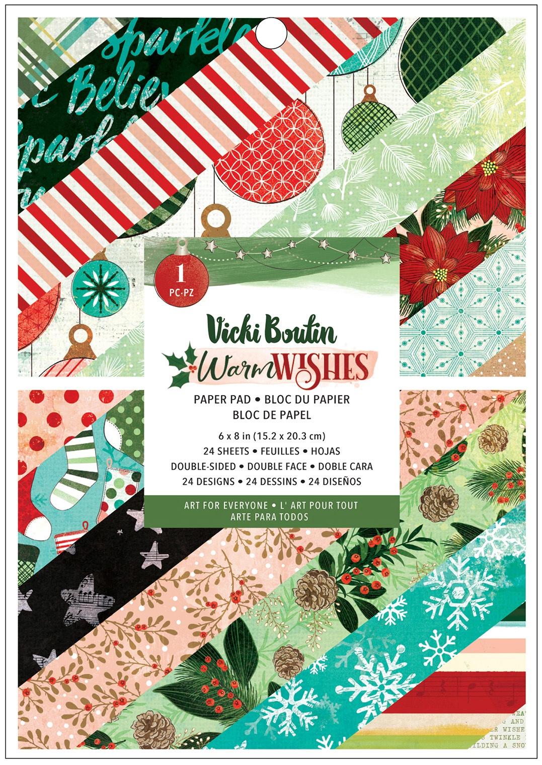 Vicki Boutin - Warm Wishes - 6x8 Paper Pad