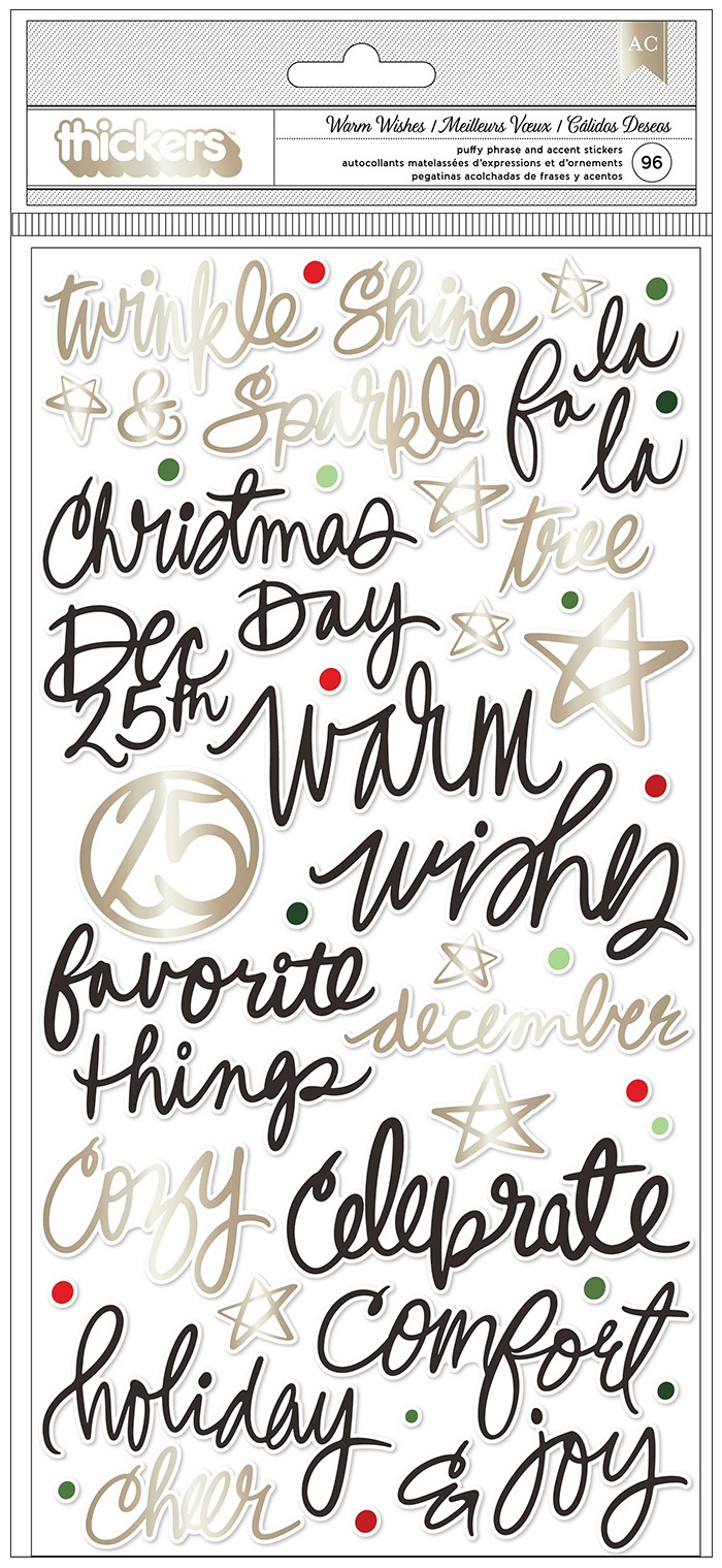 Vicki Boutin - Warm Wishes - Thickers Phrases