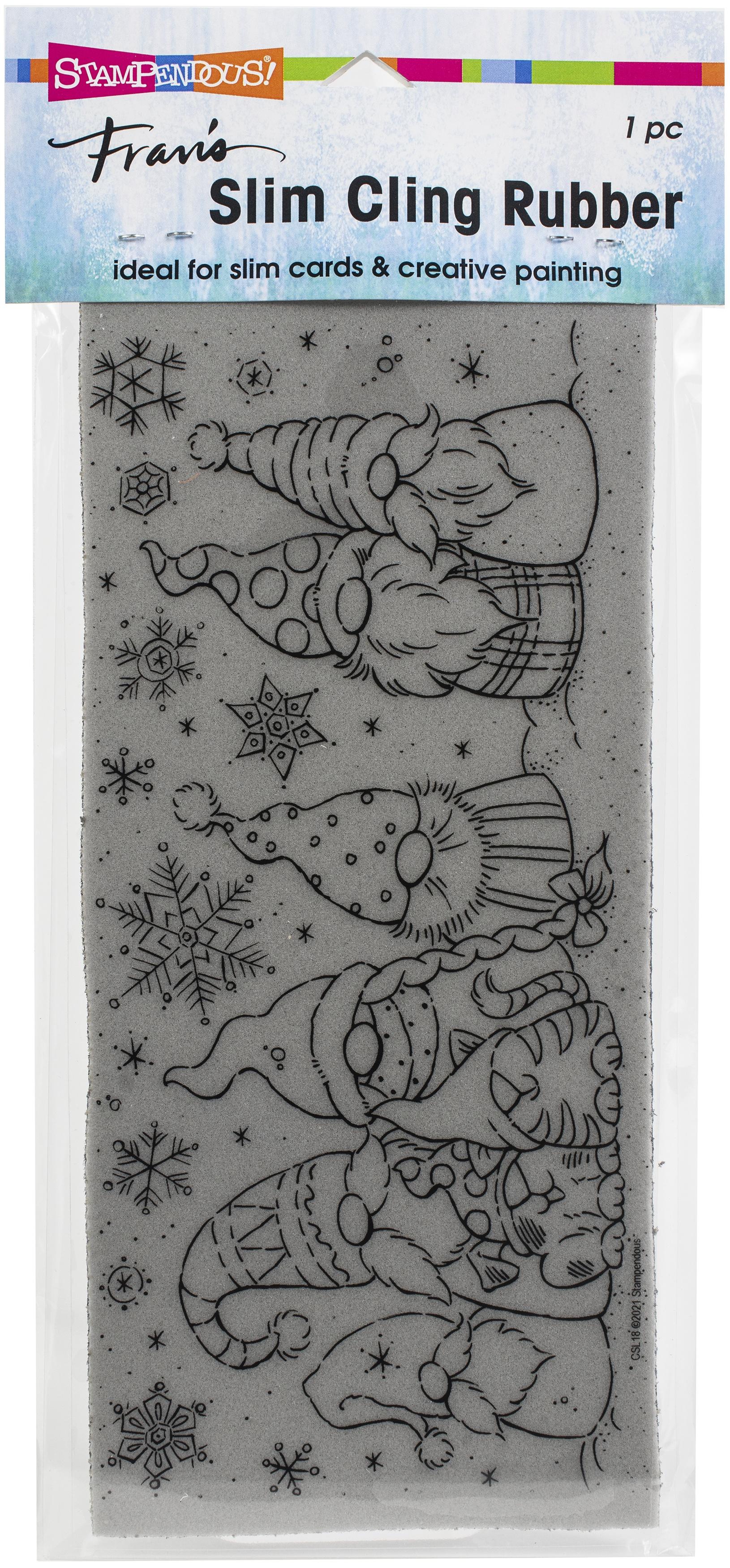 Slim Winter Gnomes Stamp