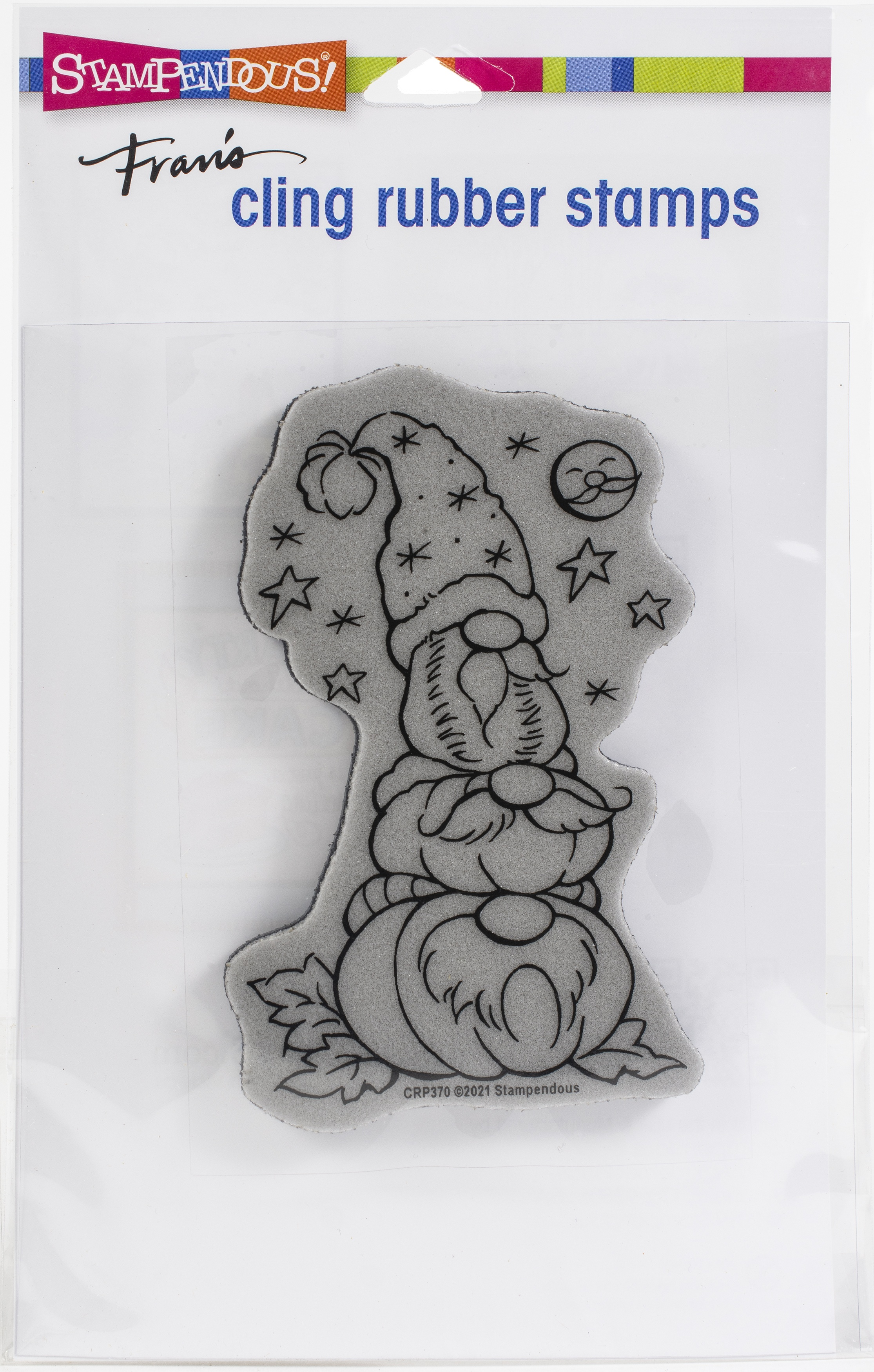 Stampendous Cling Stamp-Gnome Patch