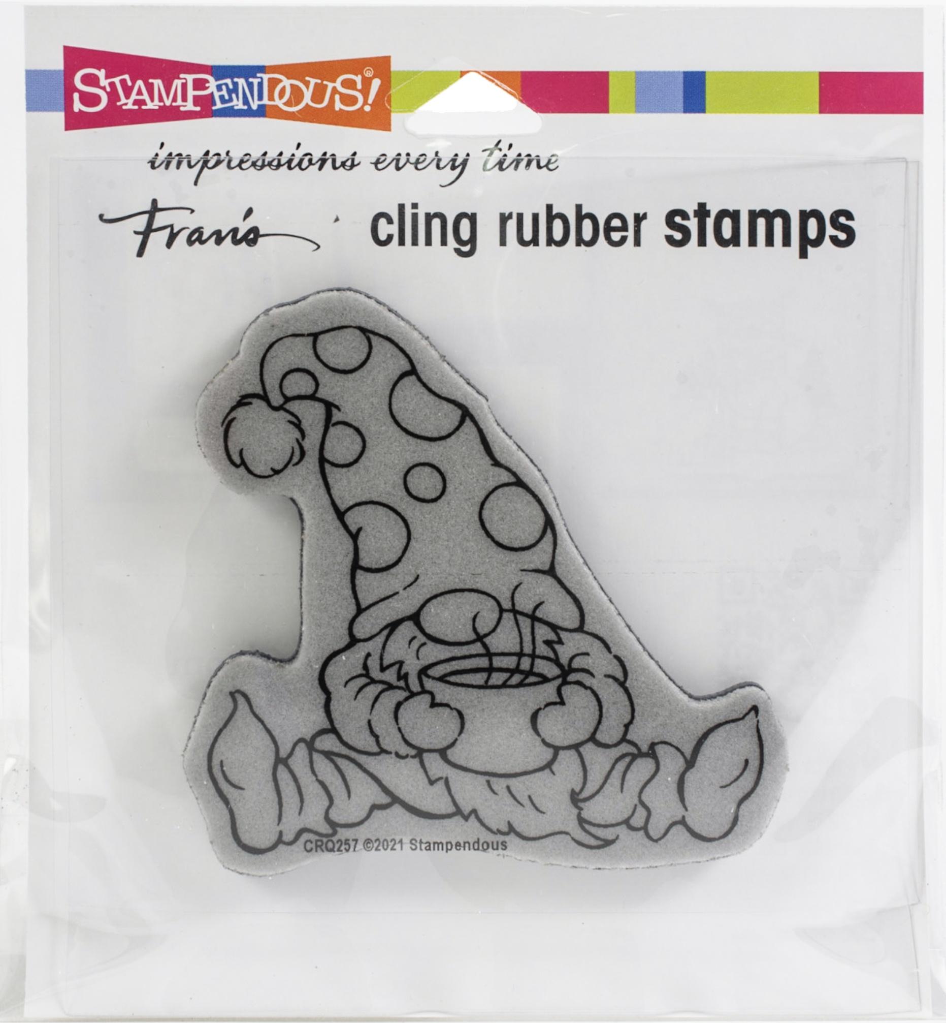 Stampendous Cocoa Gnome Stamp