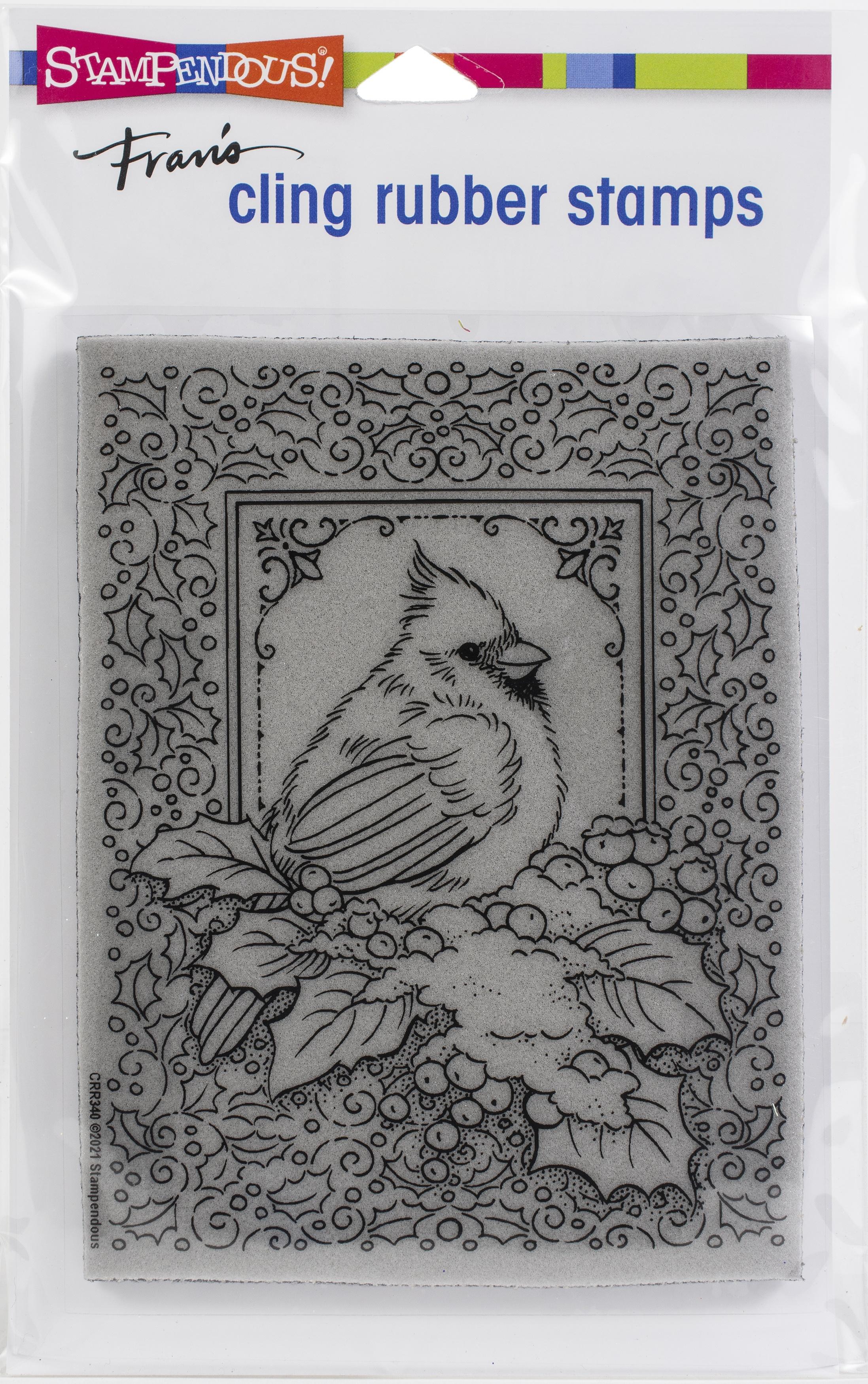 Cardinal Frame Stamp