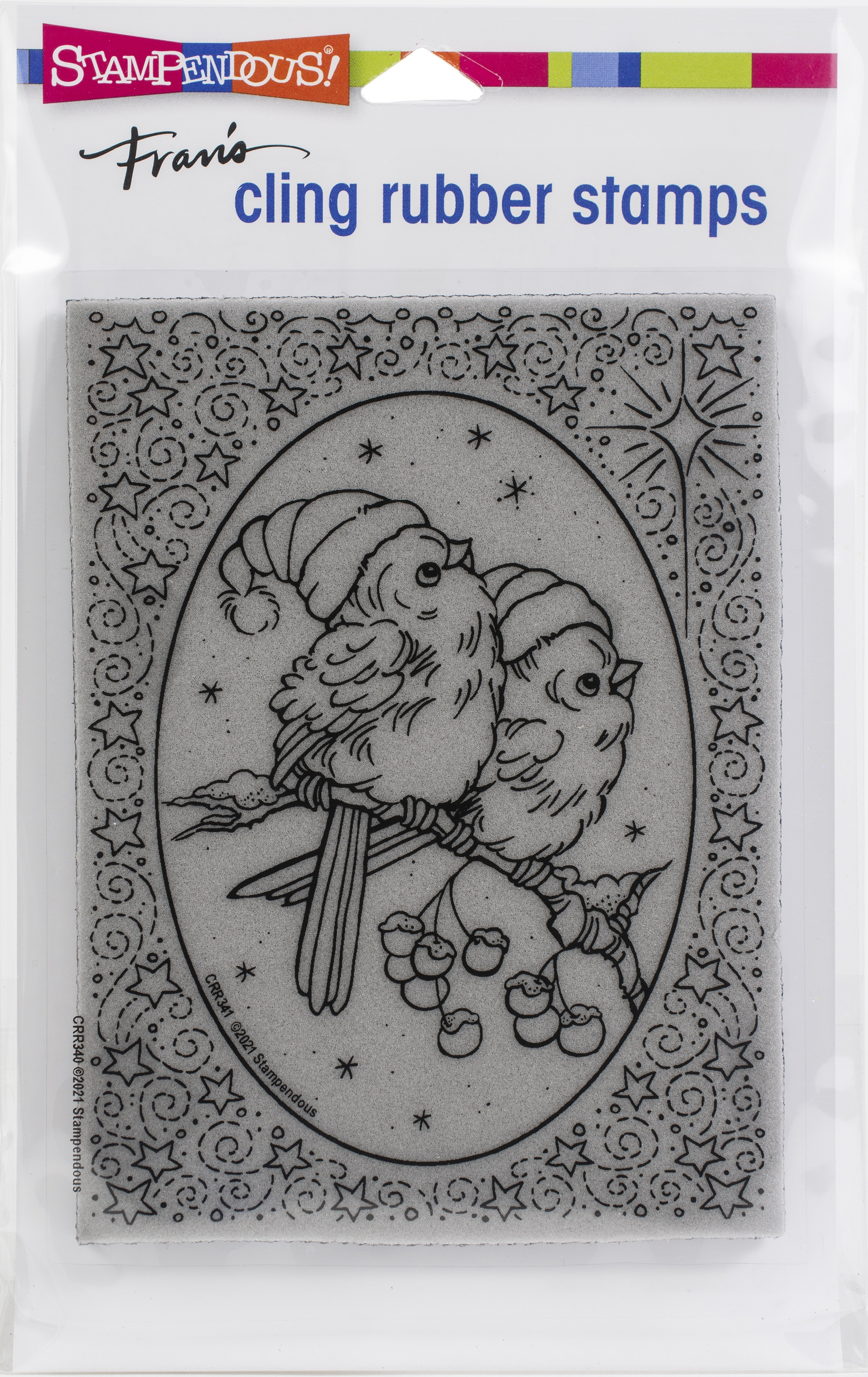 Stampendous Cling Stamp-Heavenly Birds