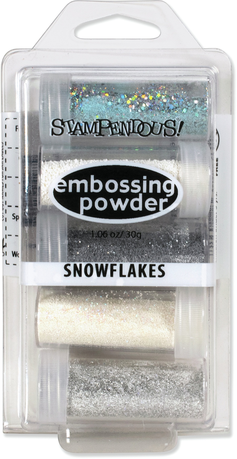 Stampendous Embossing Powder - Snowflakes