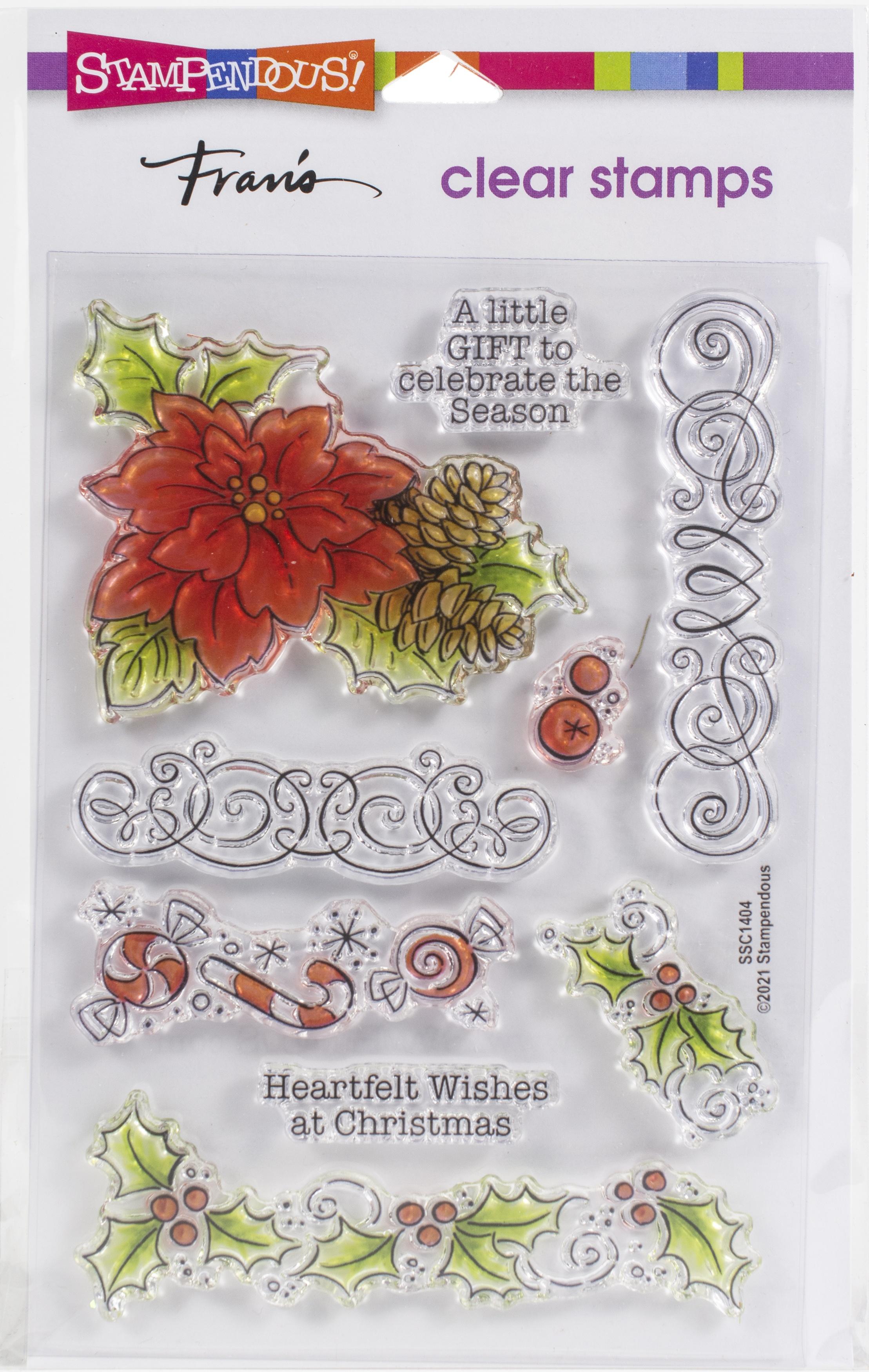 Christmas Frame Stamps