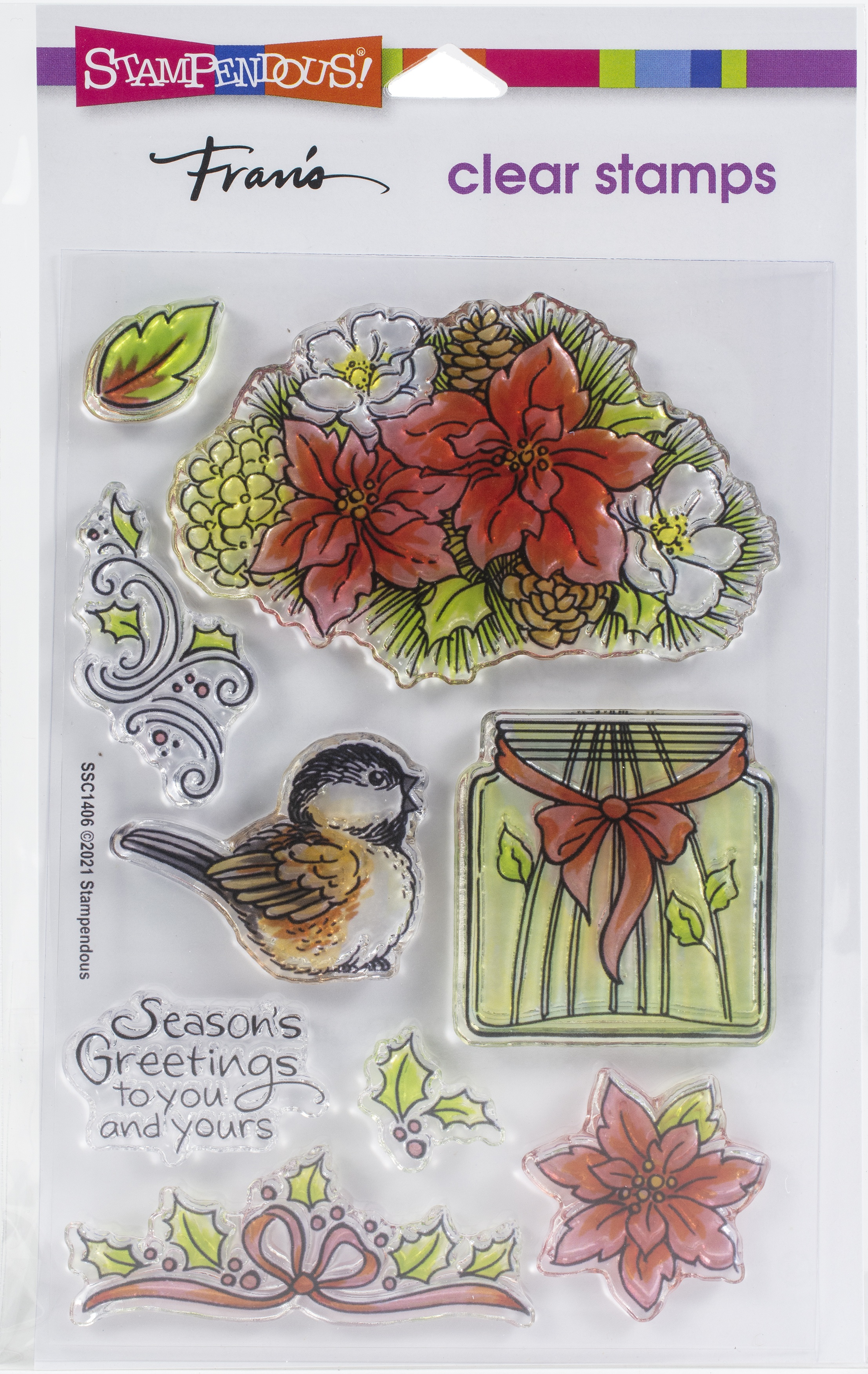 Stampendous Perfectly Clear Stamps-Season Shapes