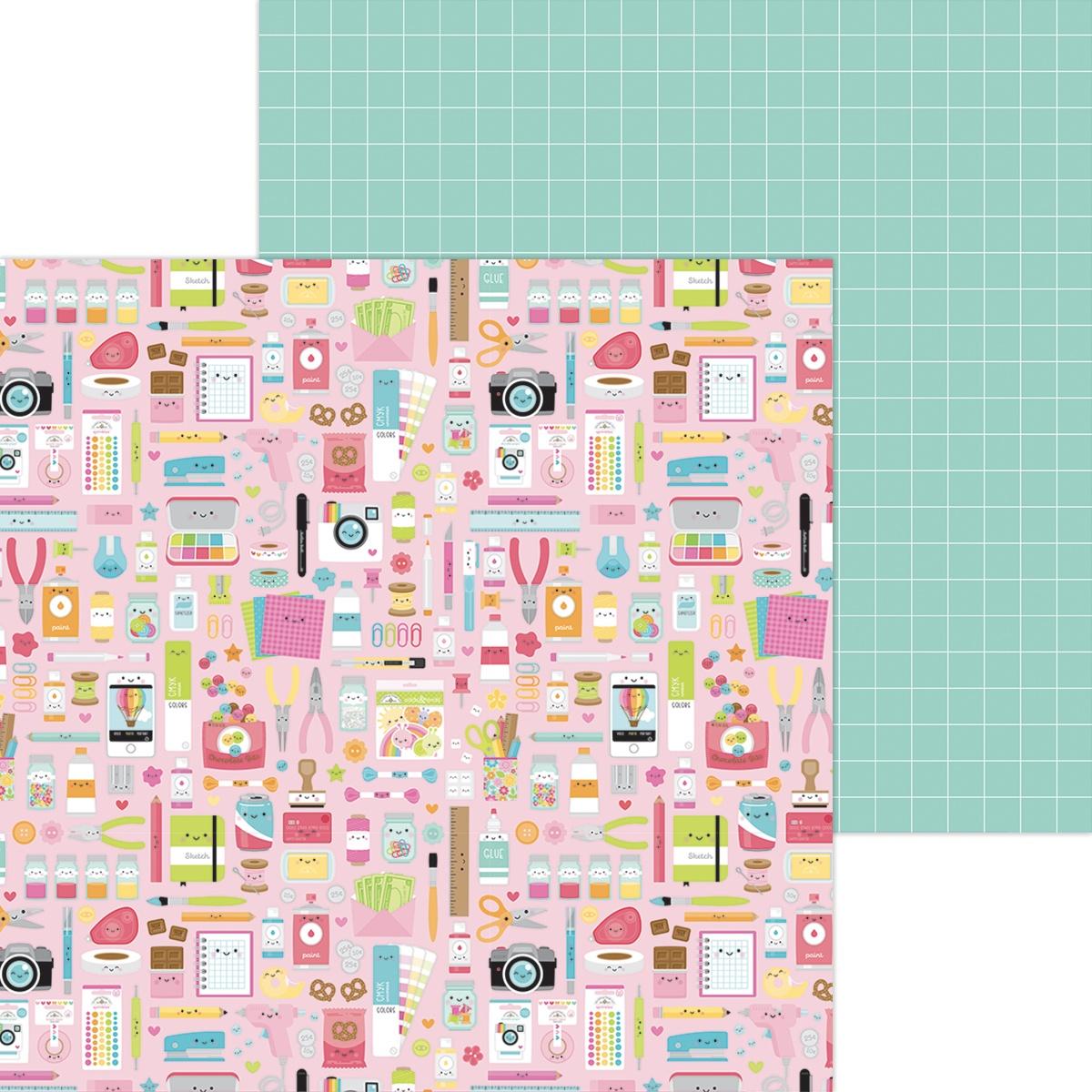 Cute & Crafty Double-Sided Cardstock 12X12-Cute & Crafty