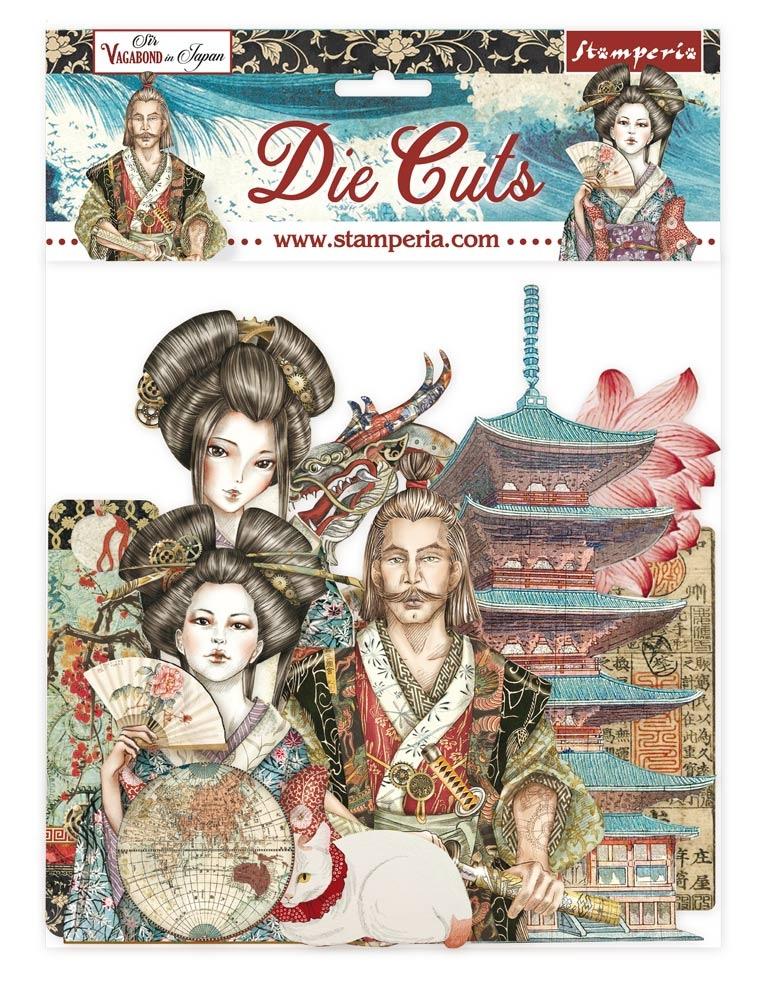 Stamperia Die-Cuts-Sir Vagabond In Japan