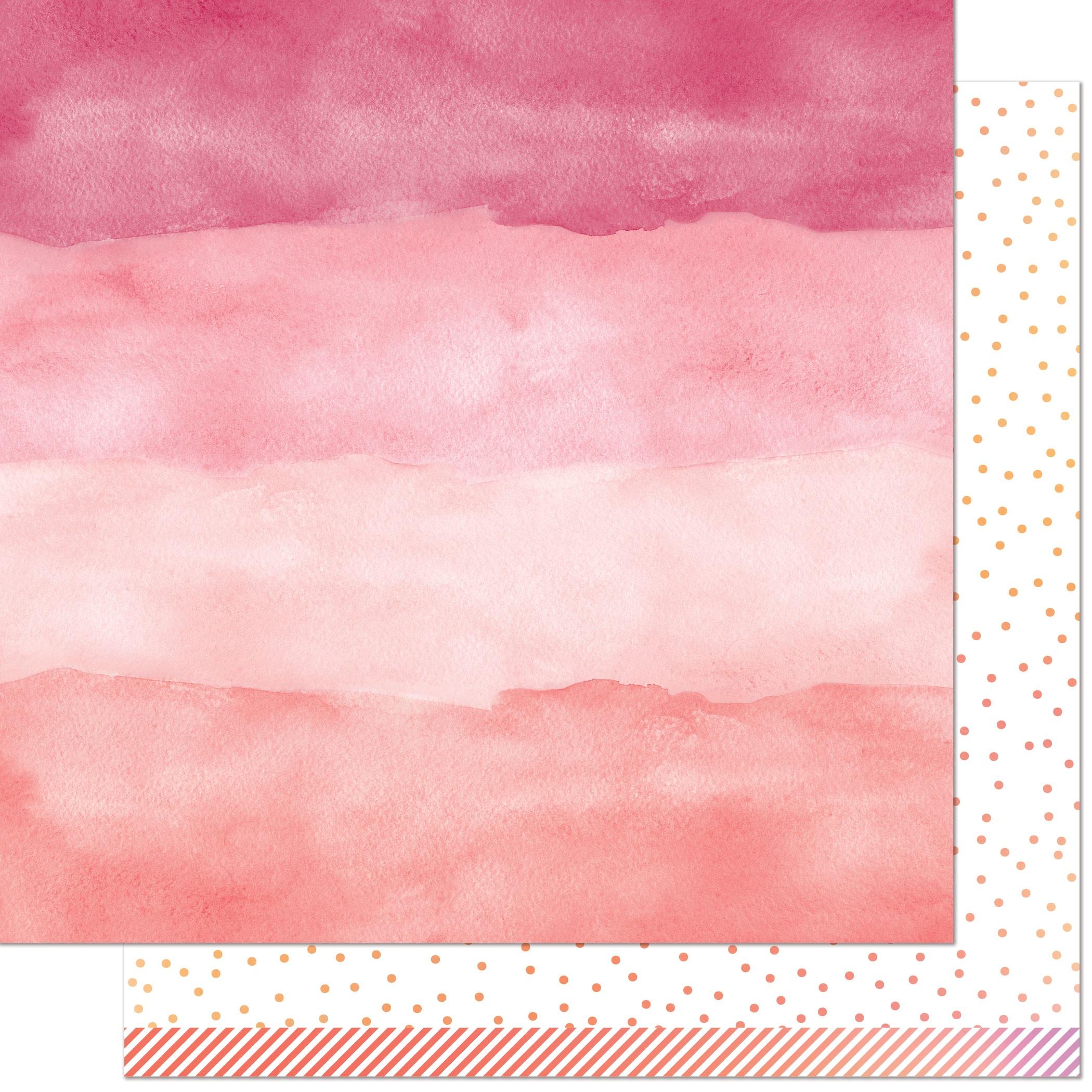 Rose Quartz-Watercolor Wishes
