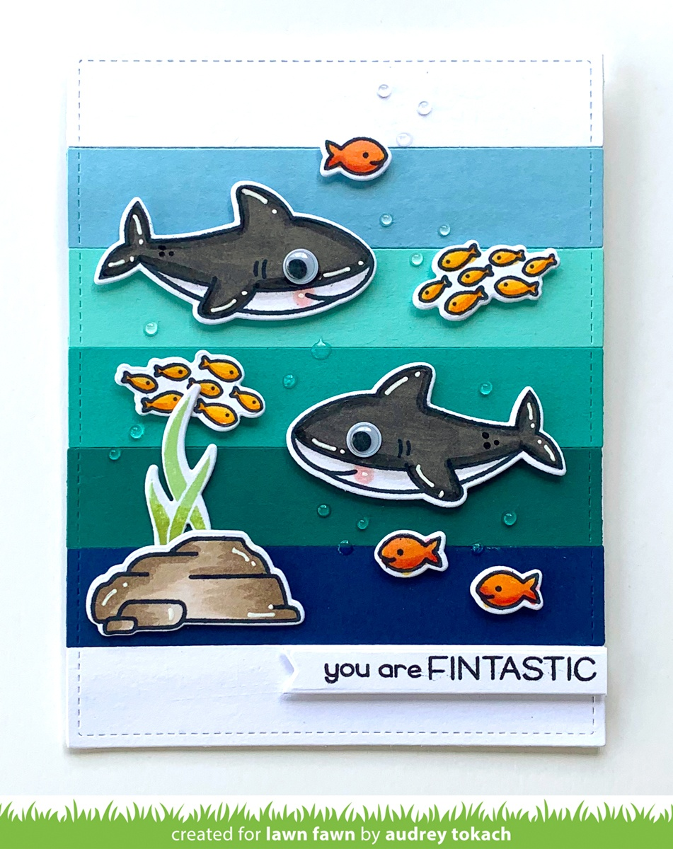 Lawn Fawn Clear Stamps 3X2-Duh-Nuh Flip-Flop