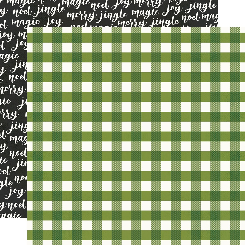 Make It Merry Double-Sided Cardstock 12X12-Holiday Life