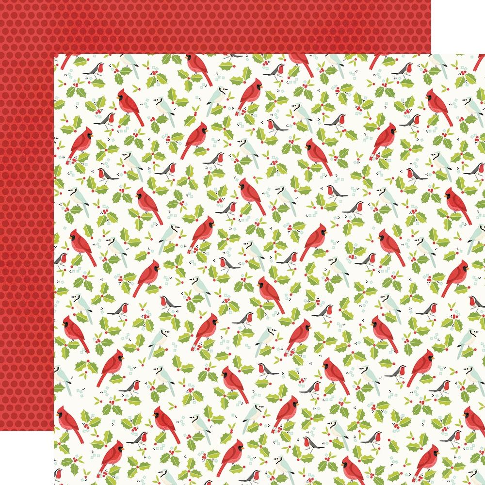 Make It Merry Double-Sided Cardstock 12X12-Wonder & Joy